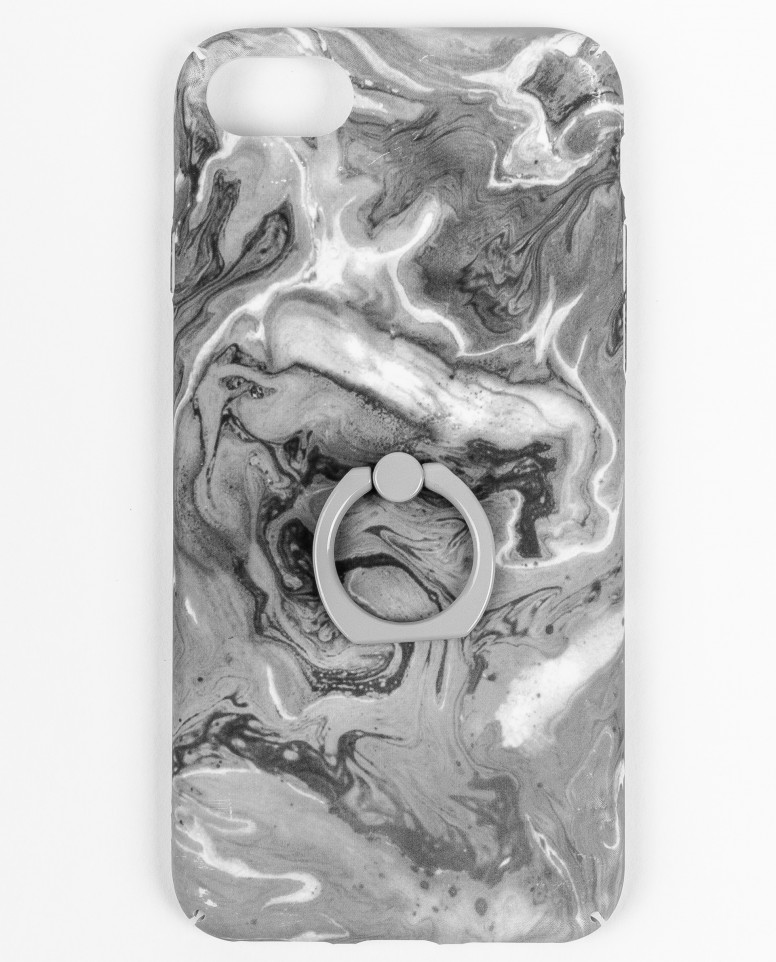 Серый чехол для IPhone 6/6S/7/8 с декором Gulliver