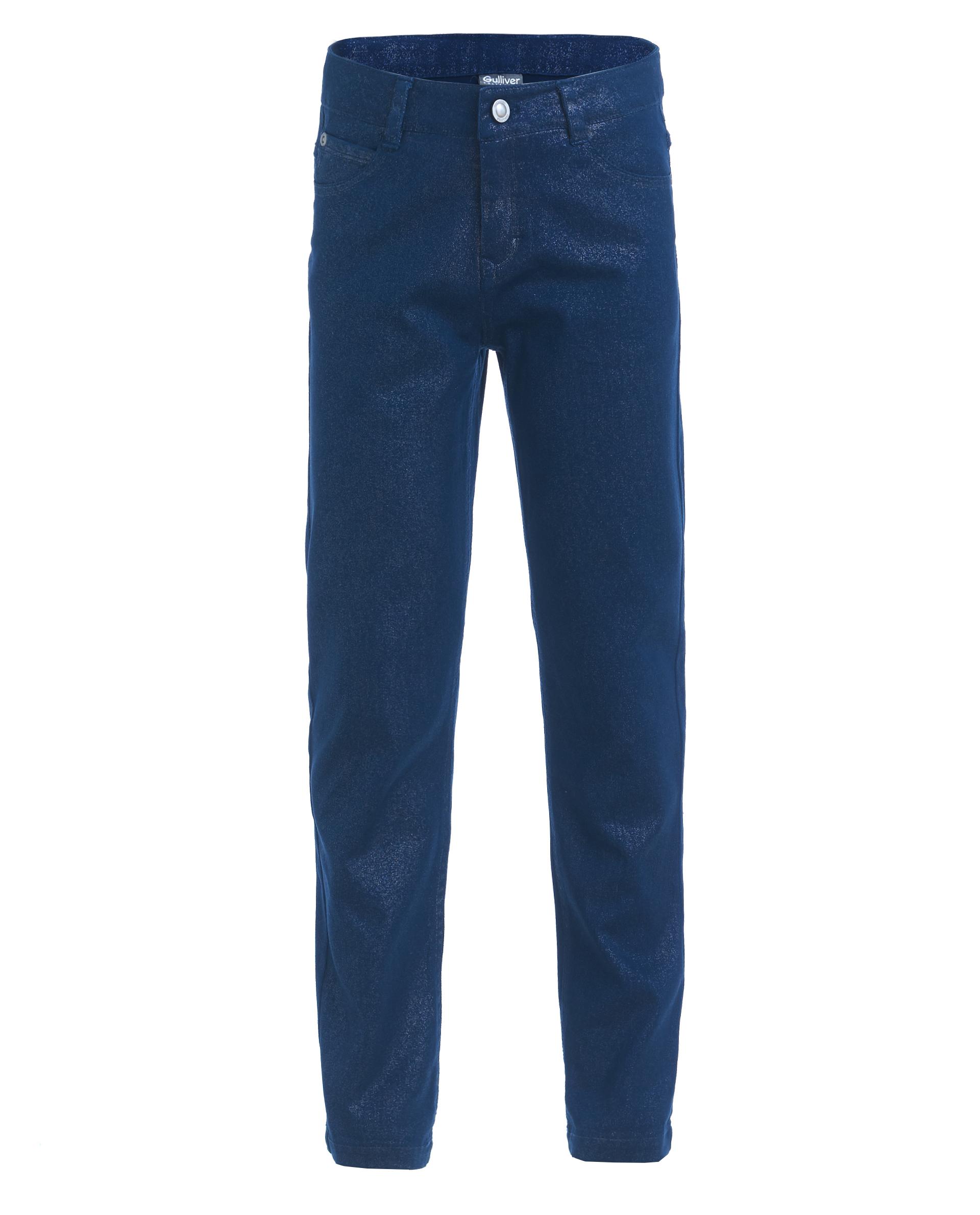 Синие узкие брюки Gulliver