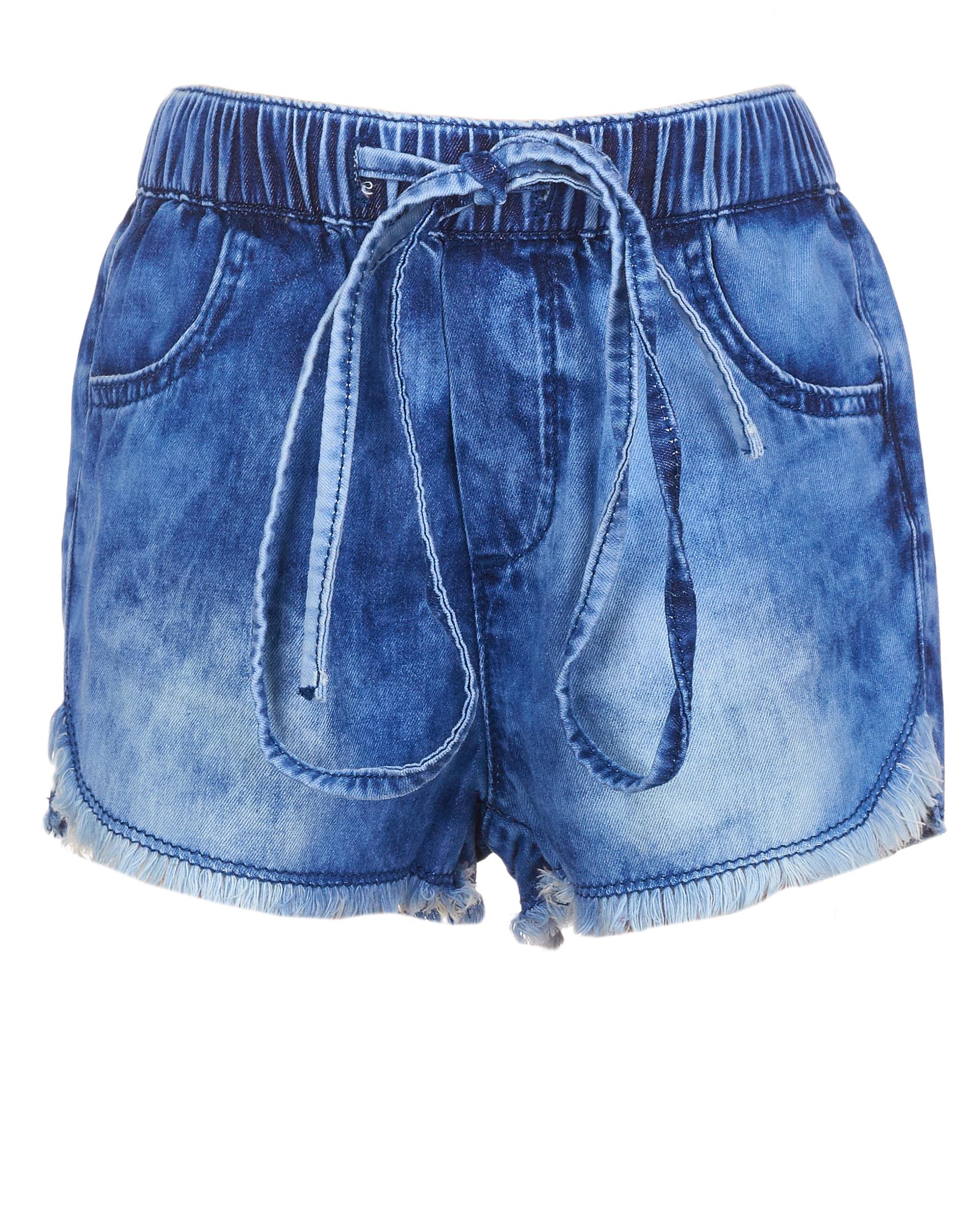 Купить 11930GBC6001, Синие джинсовые шорты Gulliver, Gulliver Baby, синий, 92, Женский, ВЕСНА/ЛЕТО 2019 (shop: GulliverMarket Gulliver Market)
