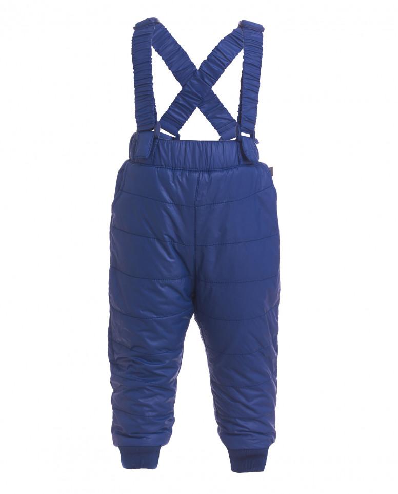 Синие утепленные демисезонные брюки Gulliver