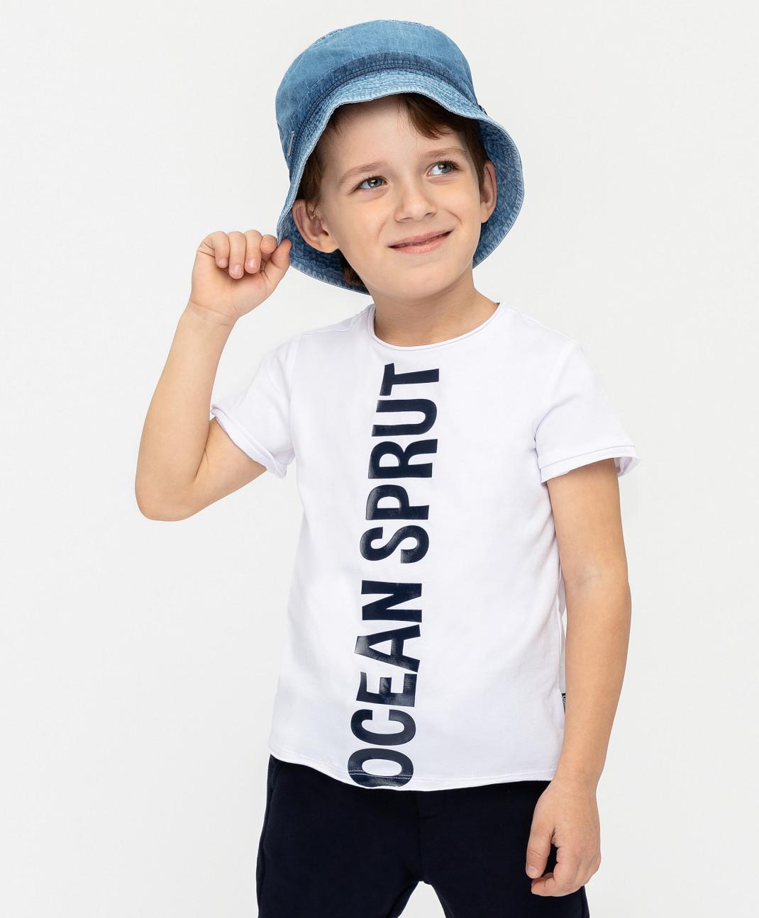 Gulliver Белая футболка с принтом Gulliver