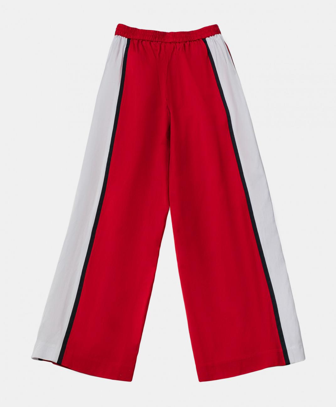 Gulliver Красные брюки с лампасами Gulliver
