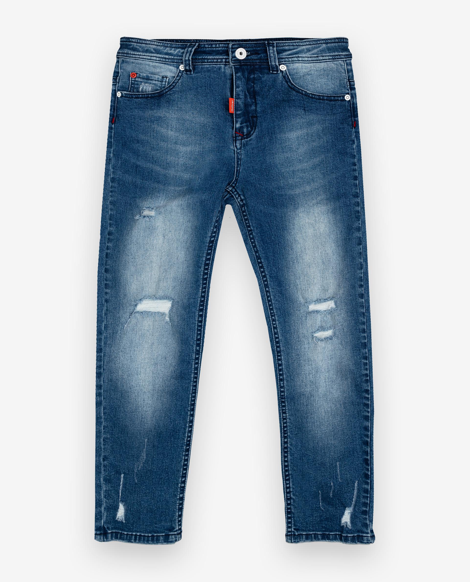 Купить 12012BJC6308, Голубые джинсы Gulliver, голубой, 158, Мужской, ОСЕНЬ/ЗИМА 2020-2021 (shop: GulliverMarket Gulliver Market)