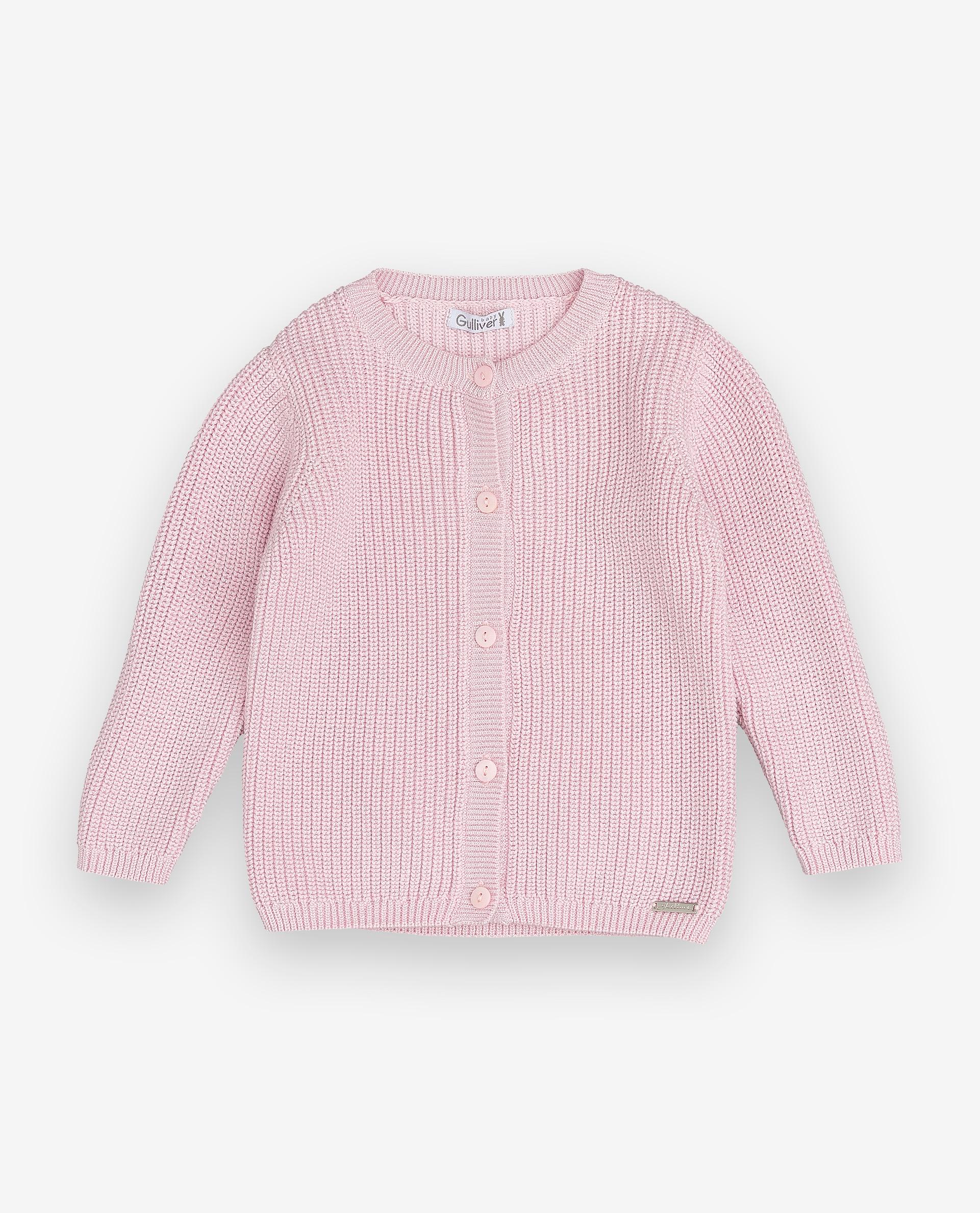 Купить 12031GBC3501, Розовый кардиган Gulliver, Gulliver Baby, розовый, 86, Женский, ОСЕНЬ/ЗИМА 2020-2021 (shop: GulliverMarket Gulliver Market)
