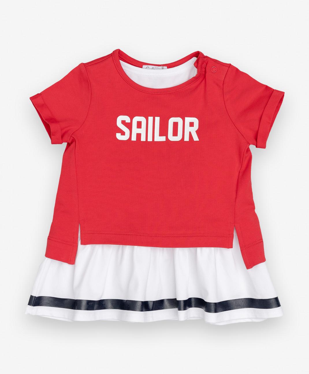 Gulliver Baby Комплект из платья и футболки Gulliver