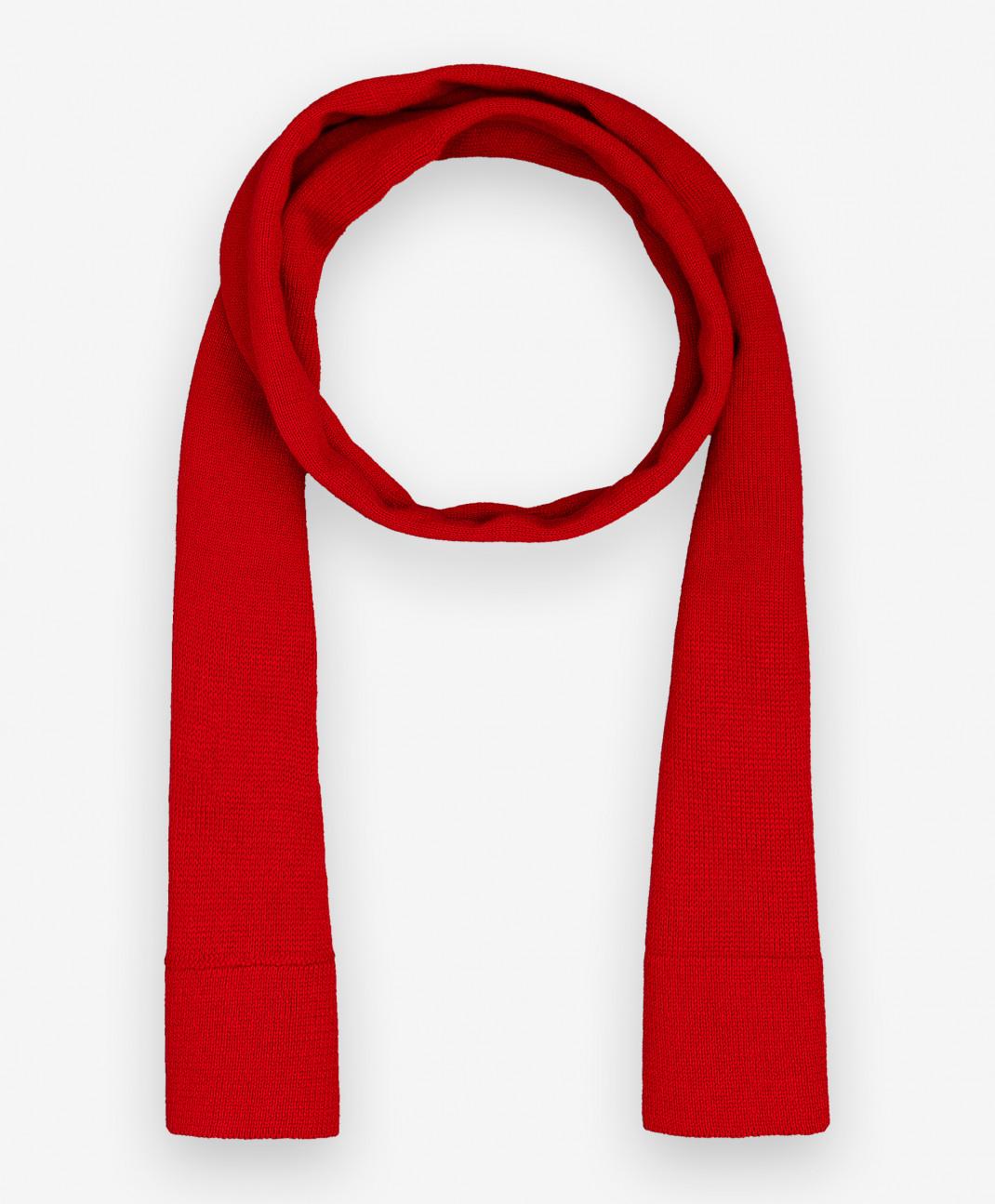 Gulliver Baby Красный вязаный шарф Gulliver