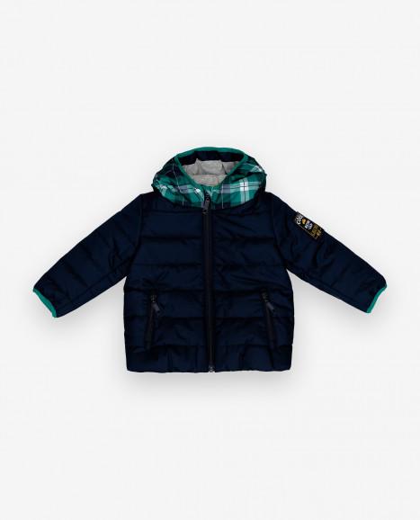Демисезонная куртка с капюшоном Gulliver