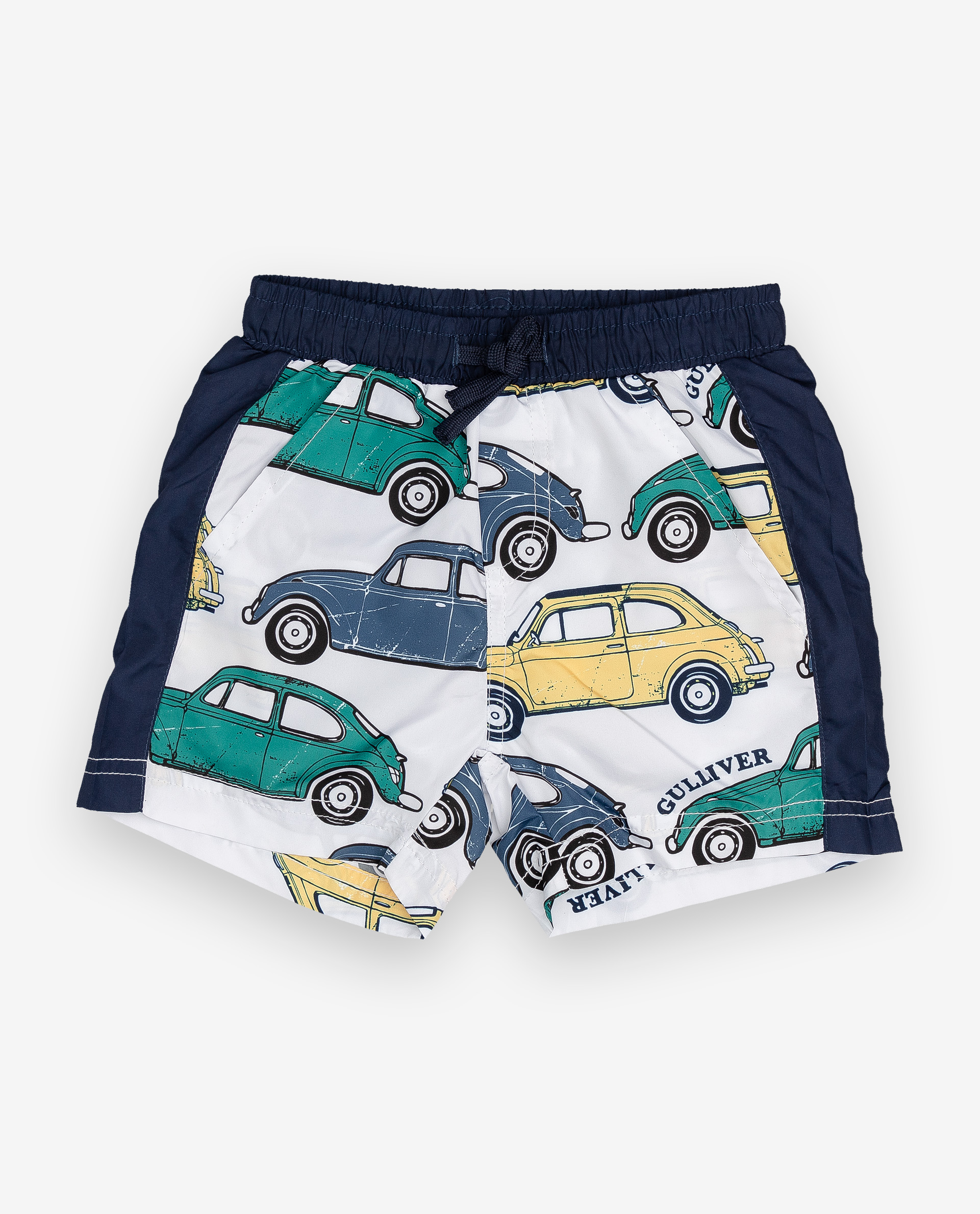 Купить 12033BBC6002, Плавательные шорты с принтом Gulliver, Gulliver Baby, белый, 86-92, Мужской, ВЕСНА/ЛЕТО 2020 (shop: GulliverMarket Gulliver Market)