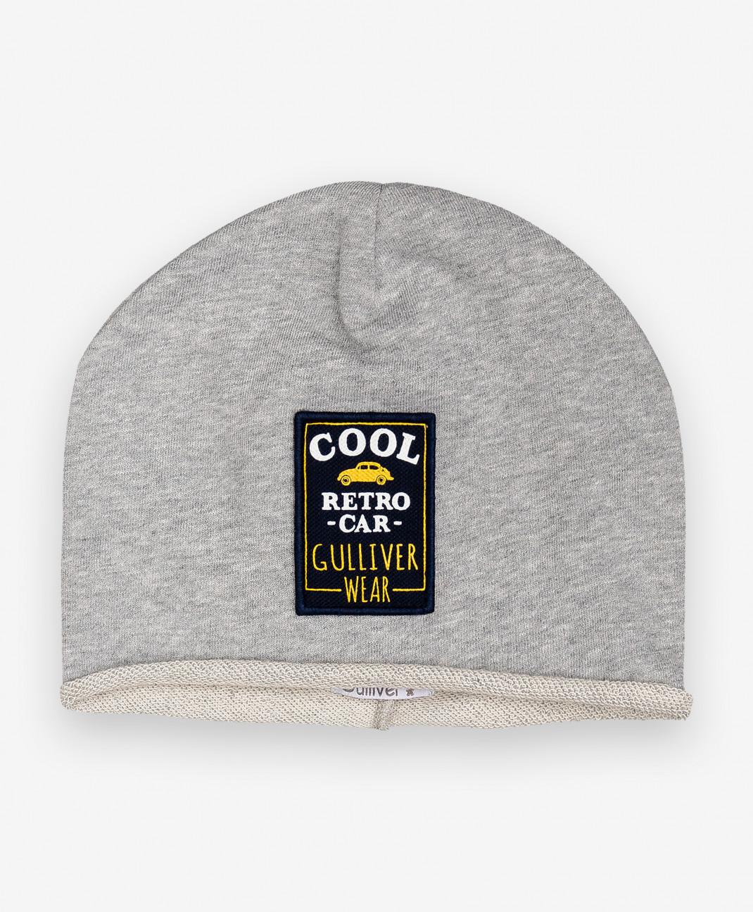 Gulliver Baby Трикотажная шапка с принтом Gulliver