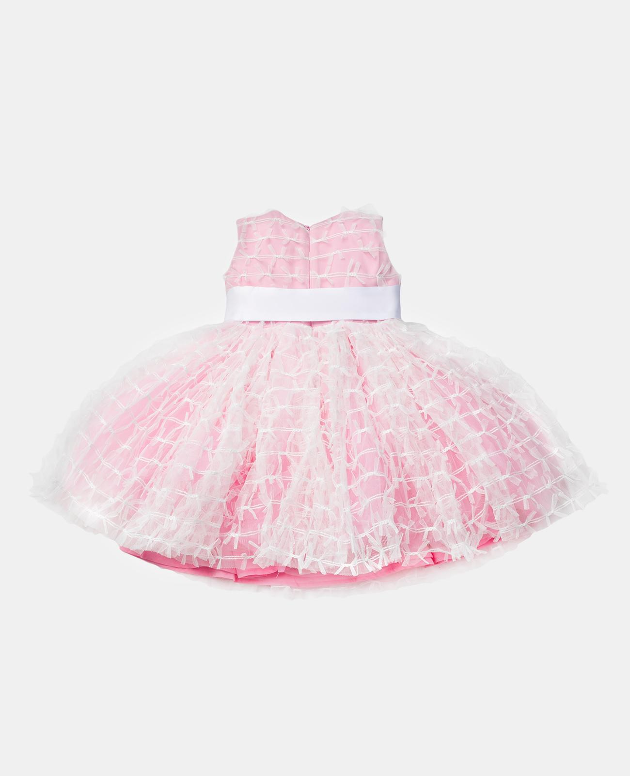 Купить 120GPGBC2501, Розовое нарядное платье Gulliver, Gulliver Baby, розовый, 86, Женский, ВЕСНА/ЛЕТО 2020 (shop: GulliverMarket Gulliver Market)