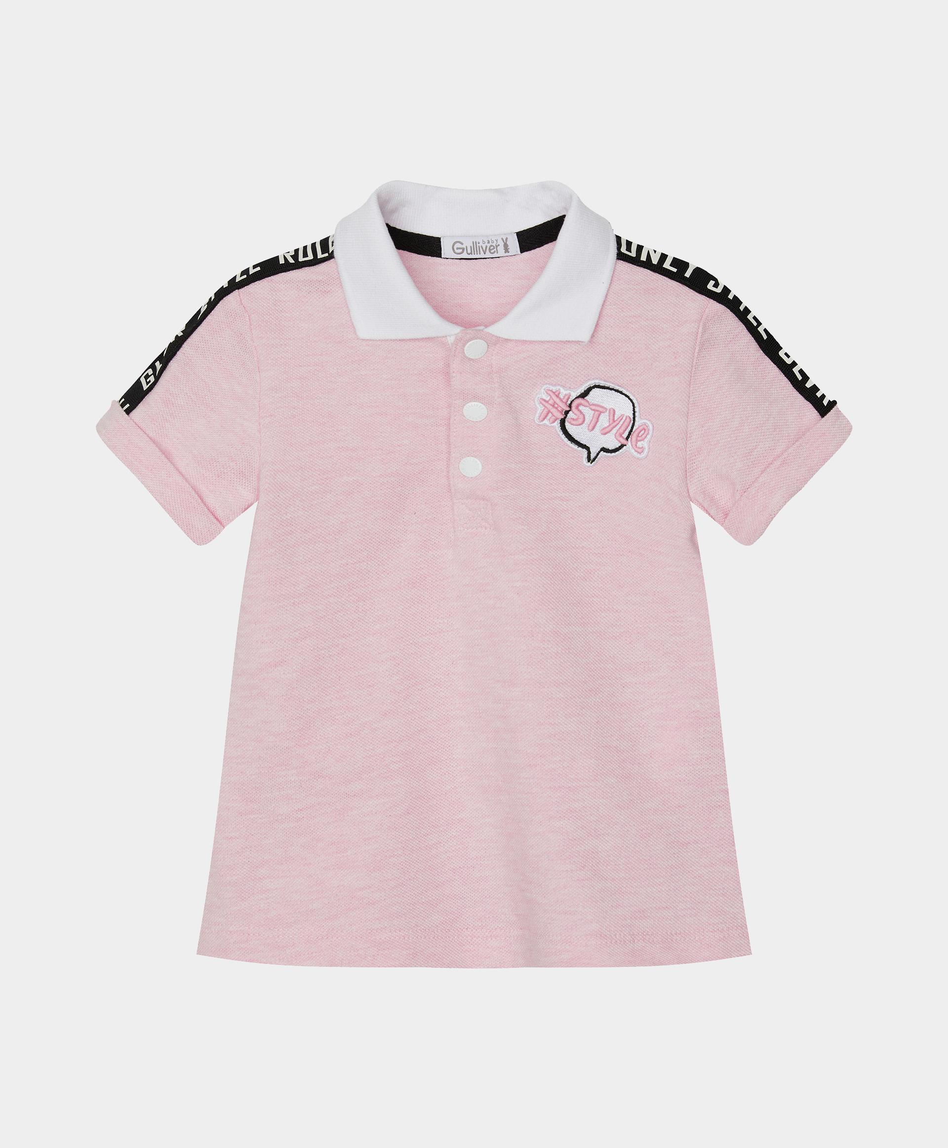 Поло розовое Gulliver
