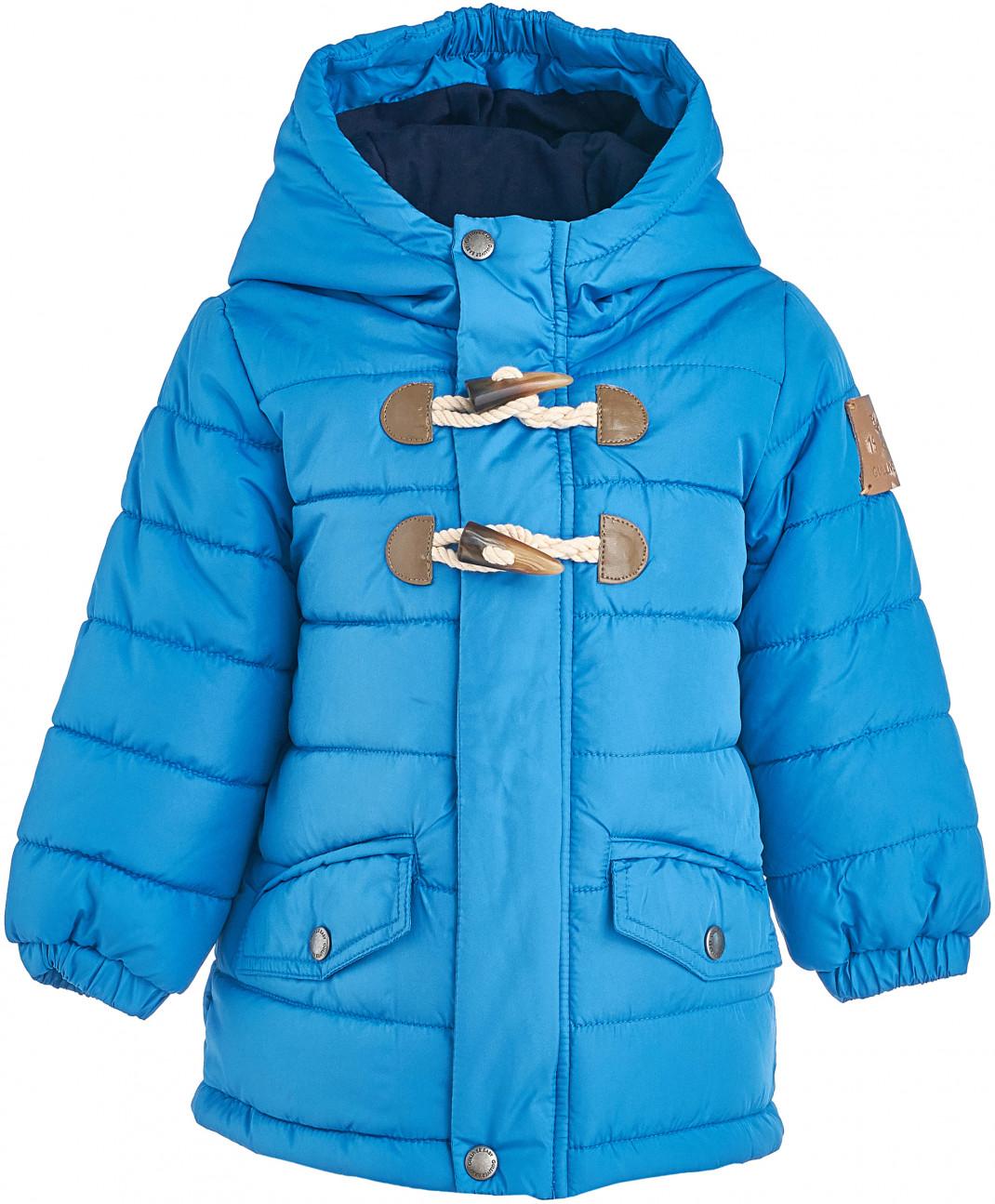 Gulliver Baby Голубая зимняя куртка Gulliver