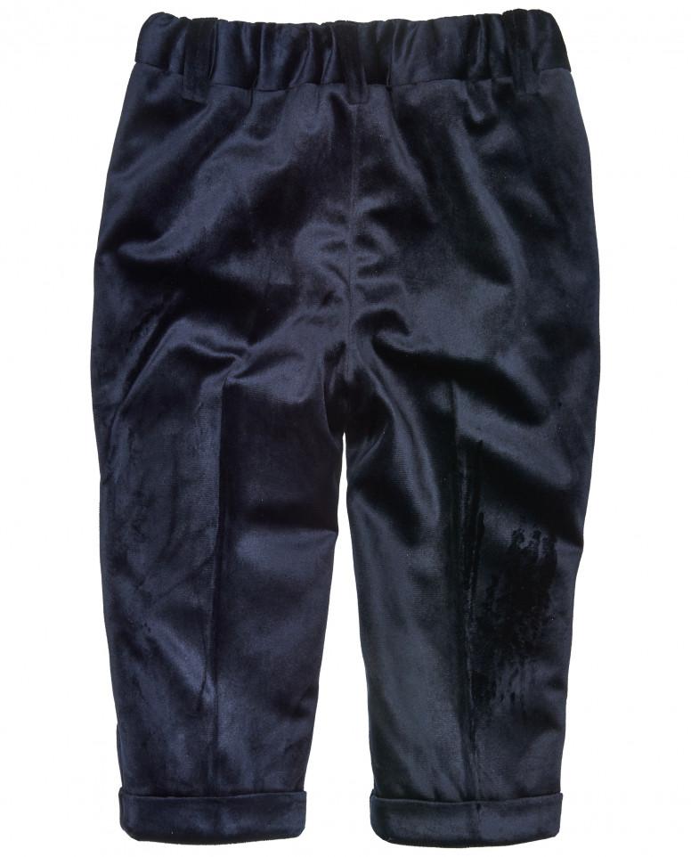 Синие бархатные брюки Gulliver