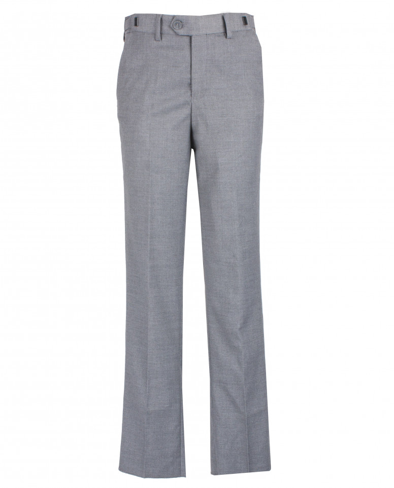 Серые брюки с регулировкой по талии Gulliver