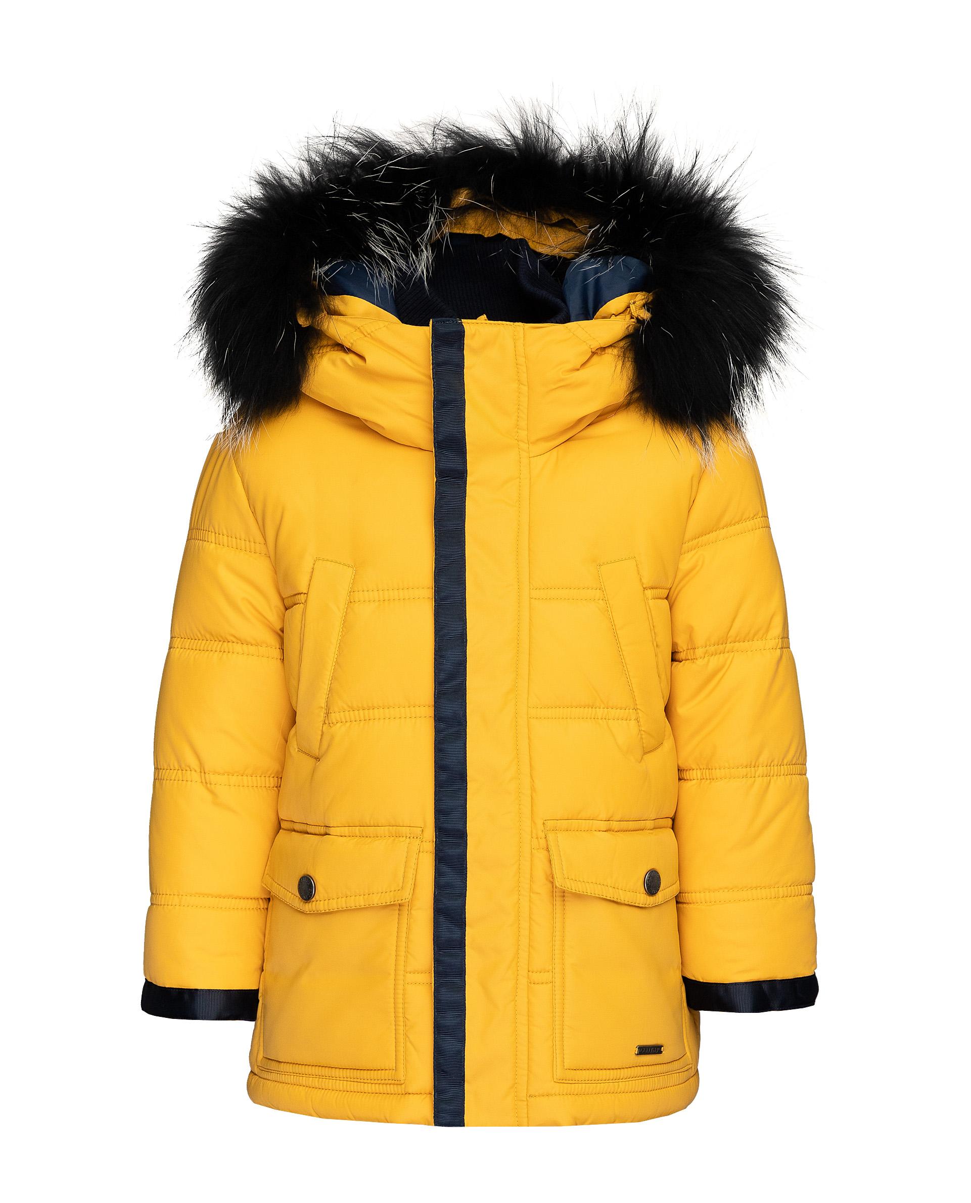 Купить 21904BMC4104, Желтая зимняя куртка Gulliver, желтый, 98, Мужской, ОСЕНЬ/ЗИМА 2019-2020 (shop: GulliverMarket Gulliver Market)