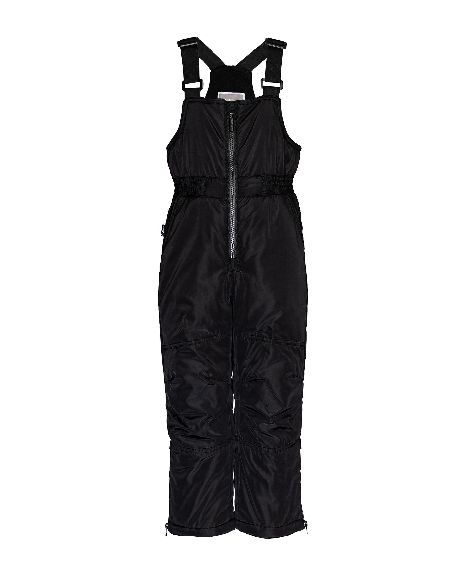 Купить 21905BMC6702, Черный зимний полукомбинезон Gulliver, черный, 104, Мужской, ОСЕНЬ/ЗИМА 2020-2021 (shop: GulliverMarket Gulliver Market)
