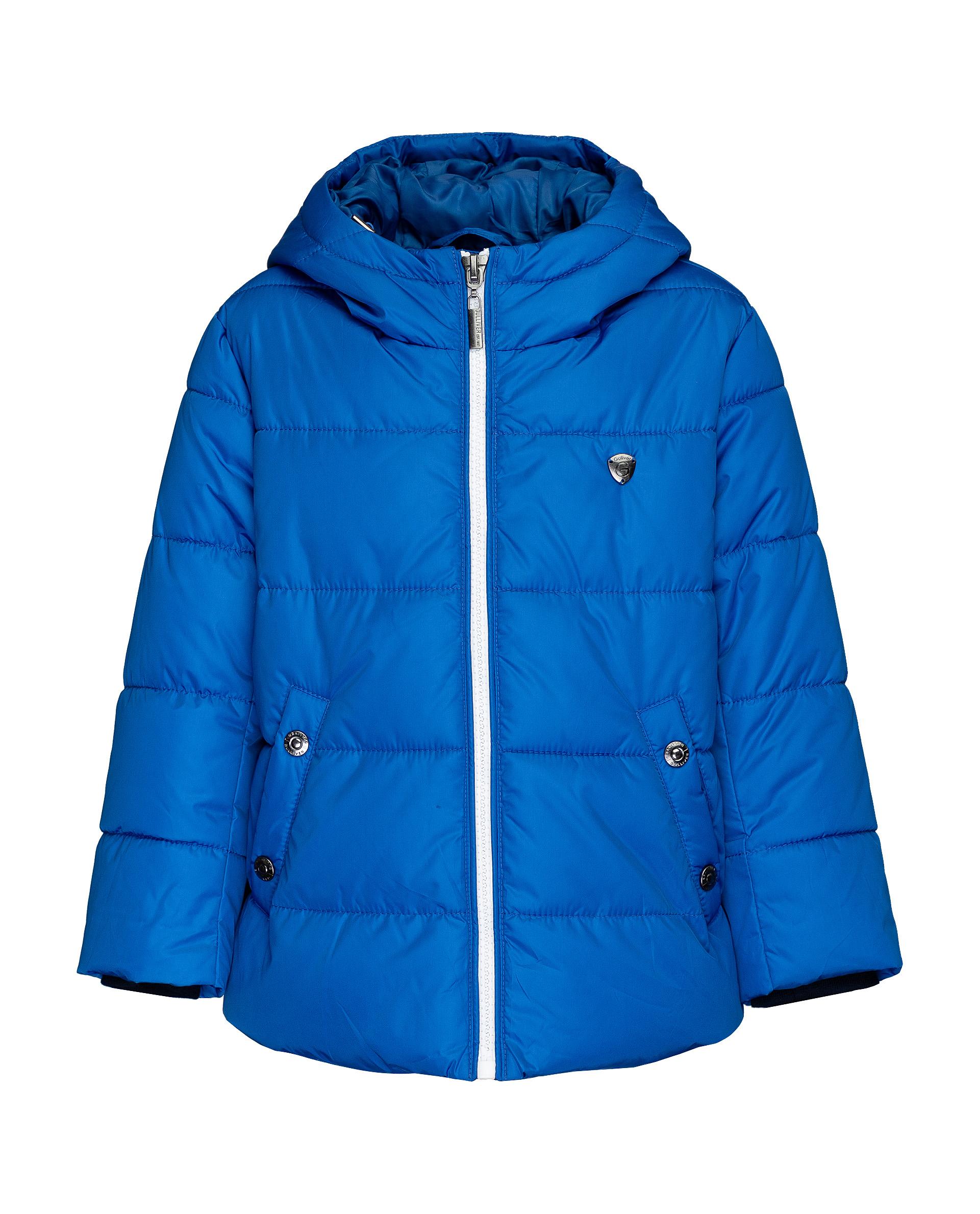 Купить 21906BMC4102, Синяя зимняя куртка Gulliver, синий, 104, Мужской, ОСЕНЬ/ЗИМА 2019-2020 (shop: GulliverMarket Gulliver Market)