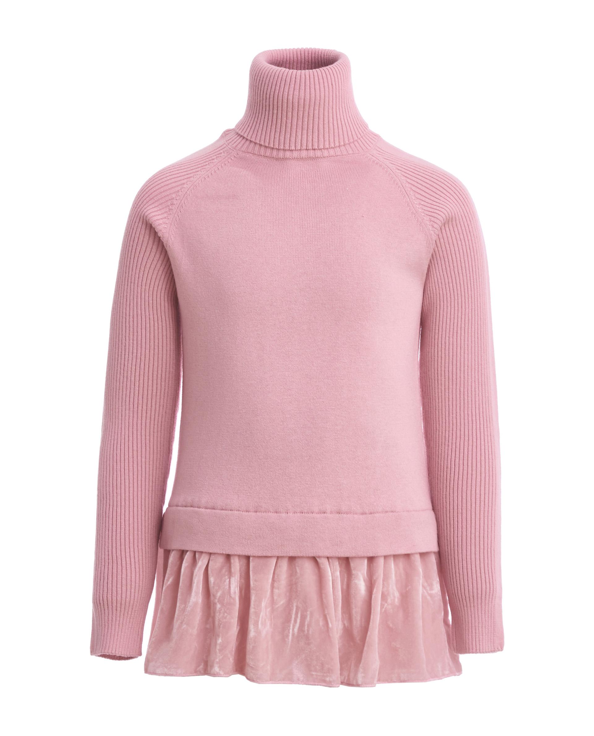 Купить 21907GJC3201, Розовая водолазка Gulliver, розовый, 164, Женский, ОСЕНЬ/ЗИМА 2019-2020 (shop: GulliverMarket Gulliver Market)