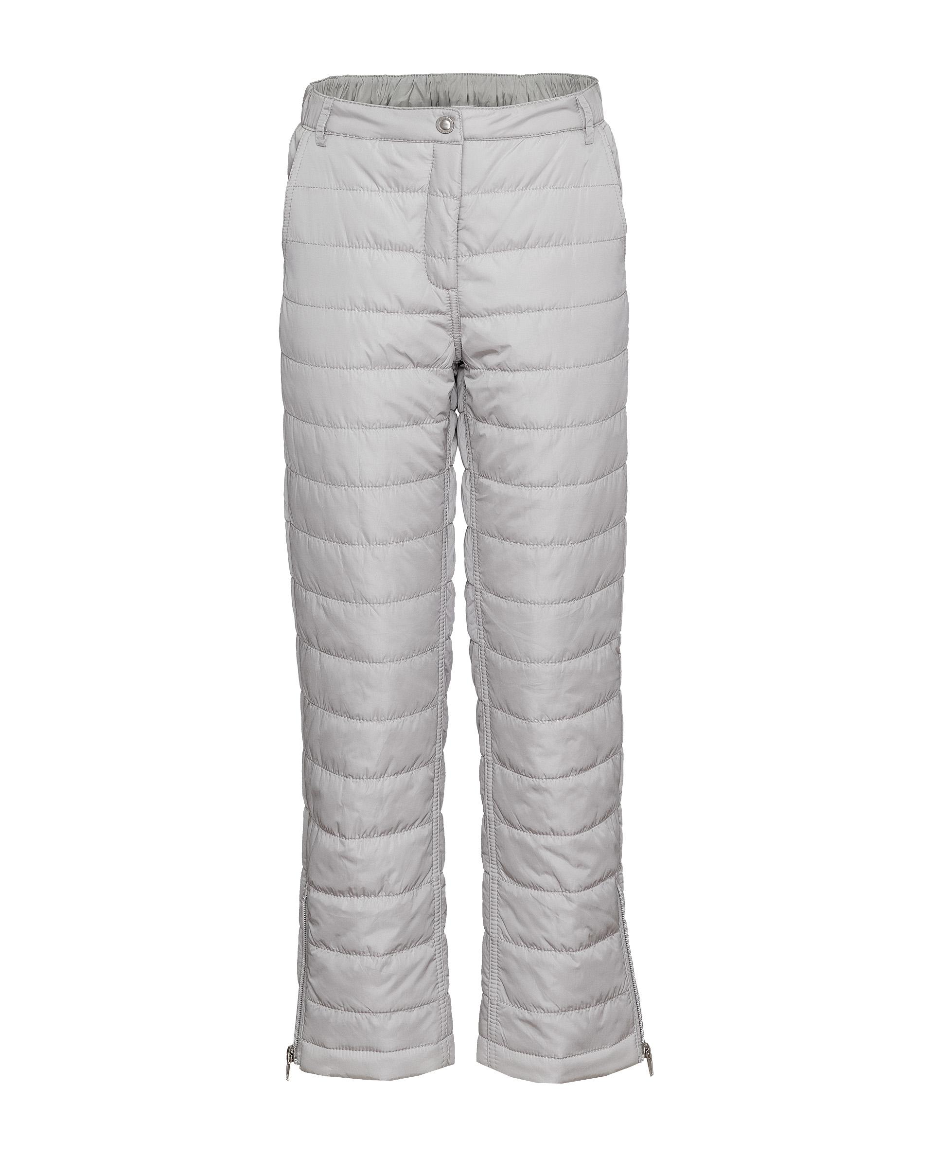 Купить 21907GJC6402, Серые утепленные зимние брюки Gulliver, серый, 140, Женский, ОСЕНЬ/ЗИМА 2019-2020 (shop: GulliverMarket Gulliver Market)