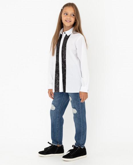 Белая блузка Gulliver