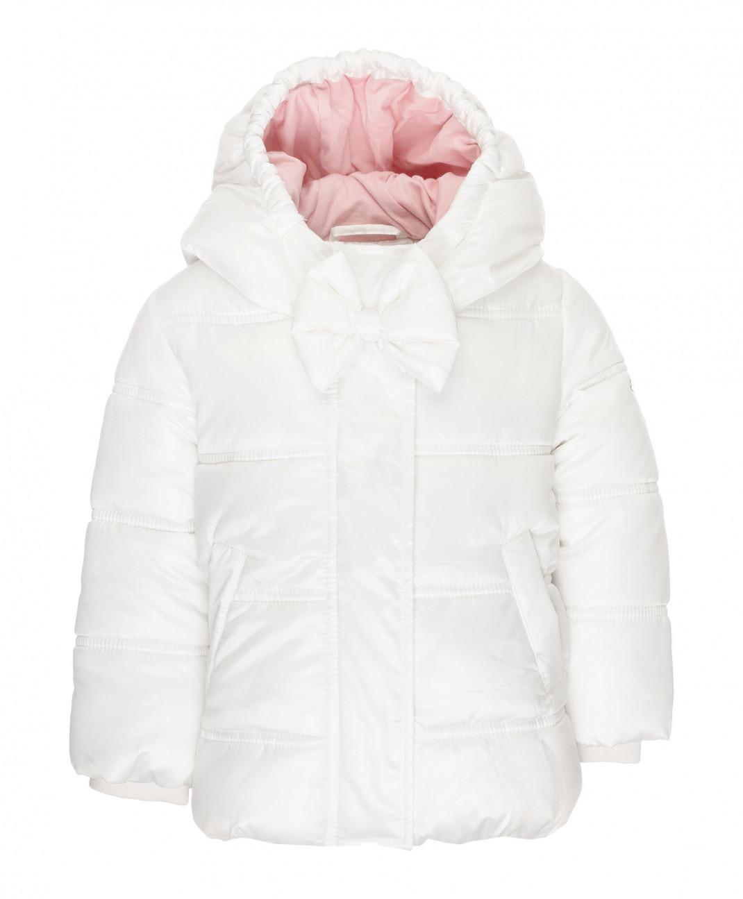 Gulliver Baby Зимняя куртка молочного цвета Gulliver