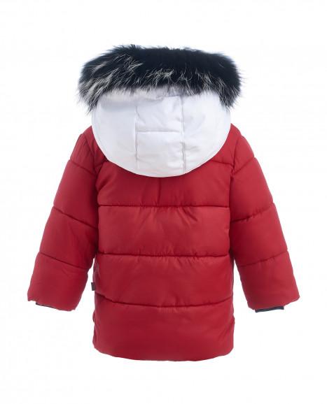 Красная зимняя куртка Gulliver