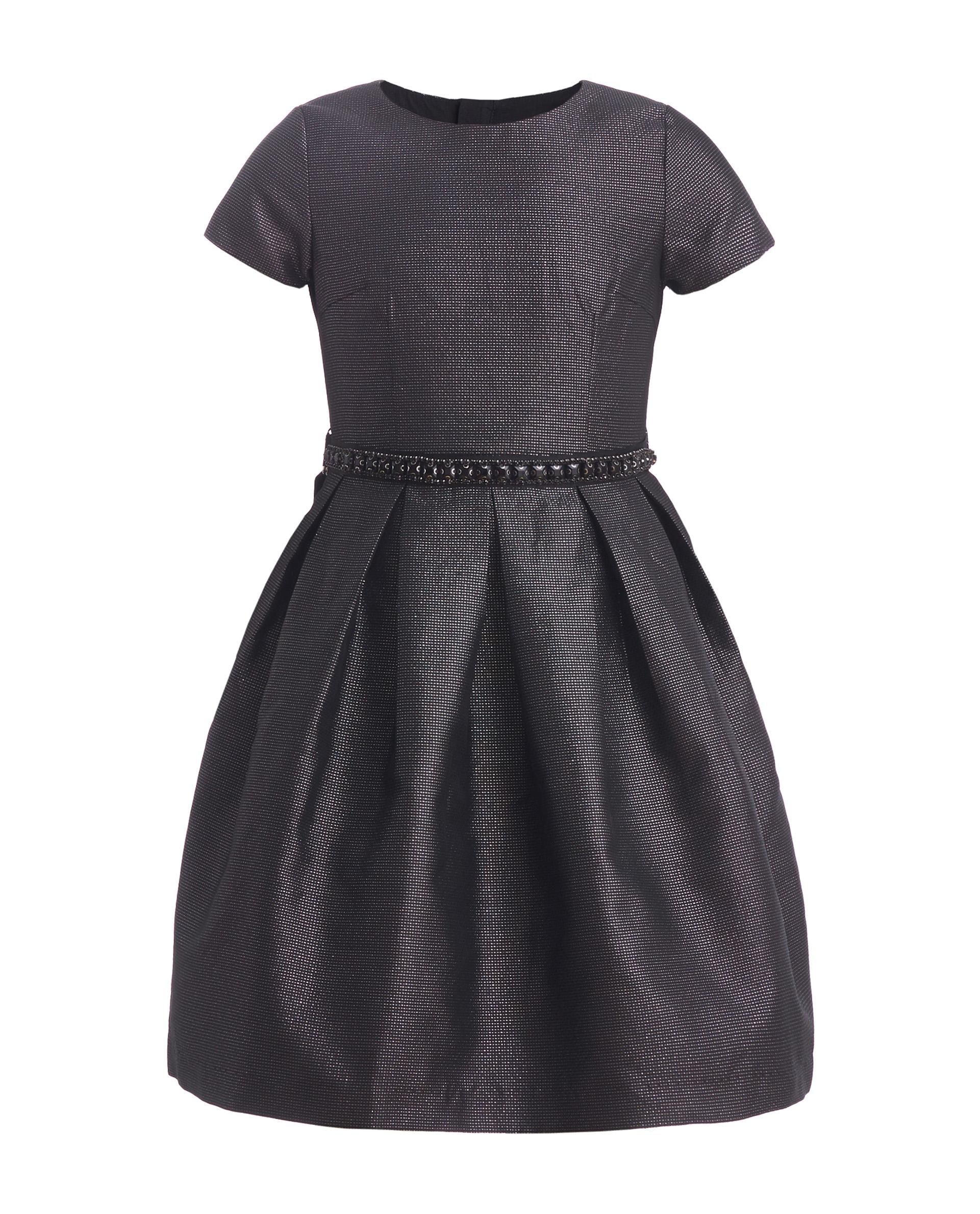 Купить 219GPGJC2505, Черное нарядное платье Gulliver, черный, 146, Женский, ОСЕНЬ/ЗИМА 2020-2021 (shop: GulliverMarket Gulliver Market)