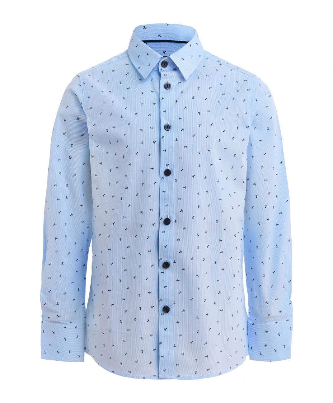 Gulliver Полосатая рубашка с орнаментом