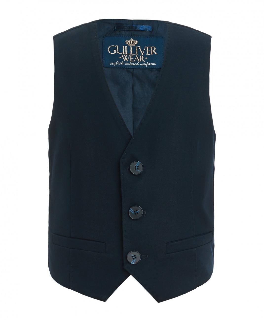 Gulliver Синий классический жилет Gulliver