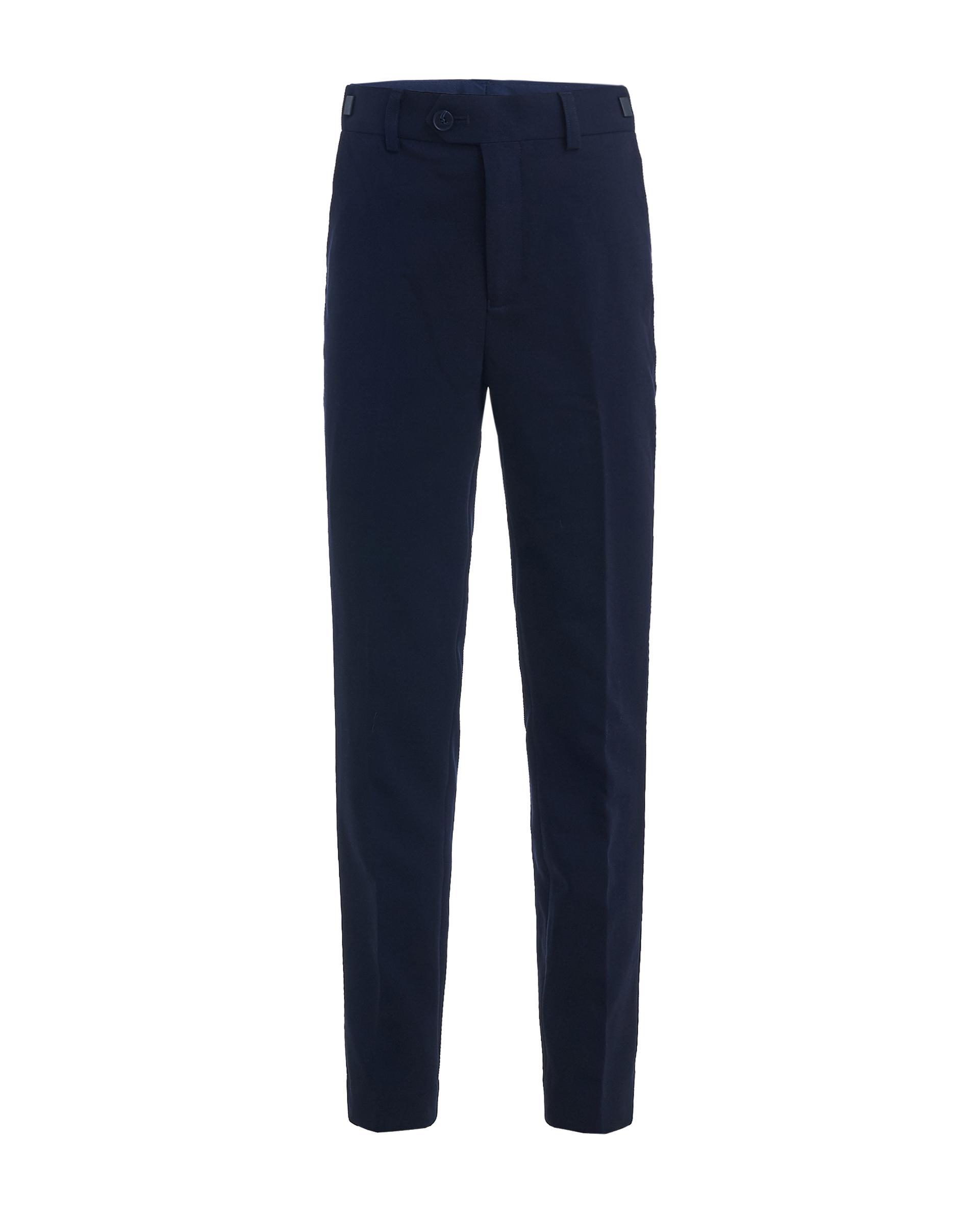 Купить 219GSBC6306, Синие брюки Gulliver, синий, 128, Мужской, ШКОЛЬНАЯ ФОРМА 2019-2020 (shop: GulliverMarket Gulliver Market)