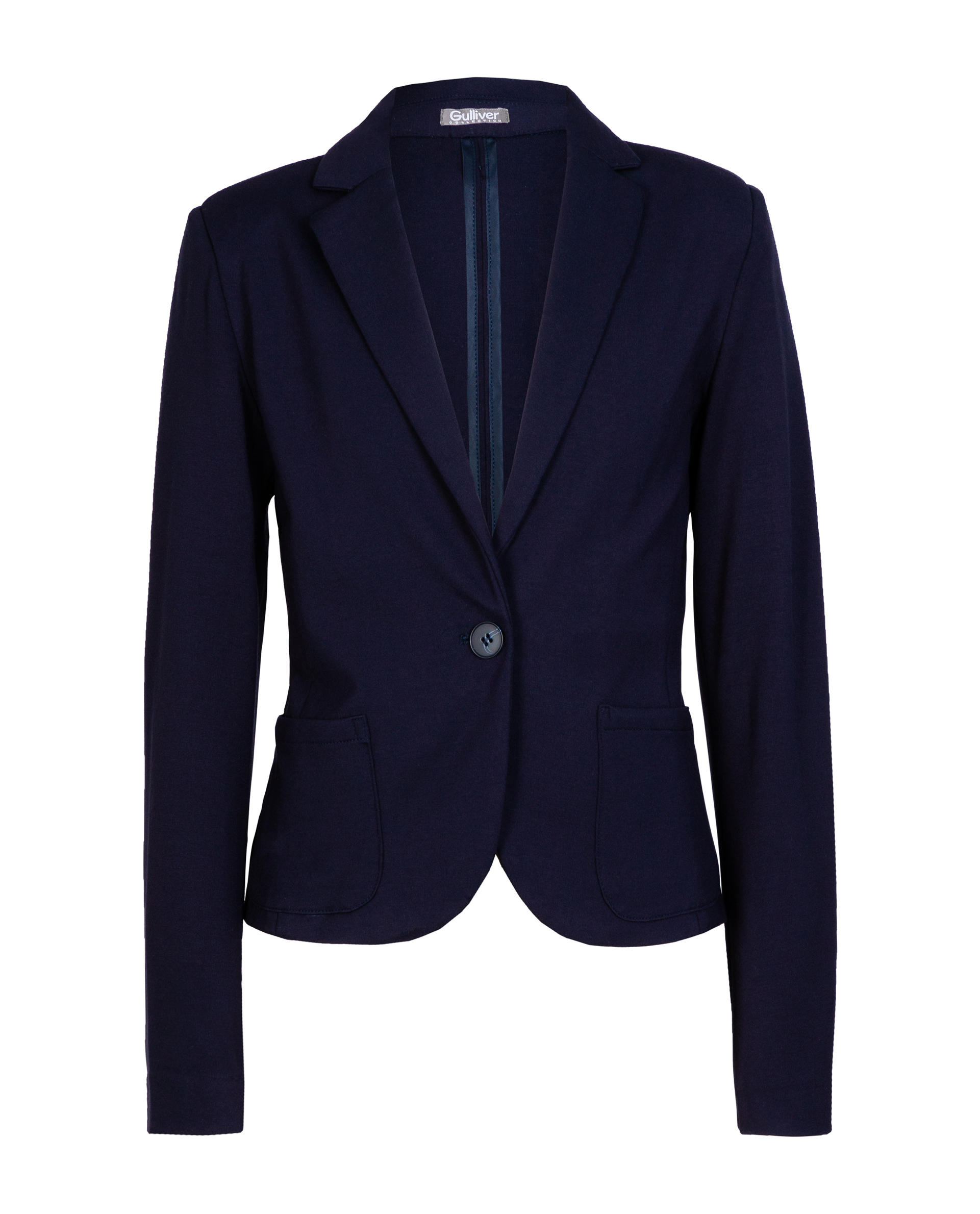 Синий пиджак Gulliver 219GSGC1908 синего цвета