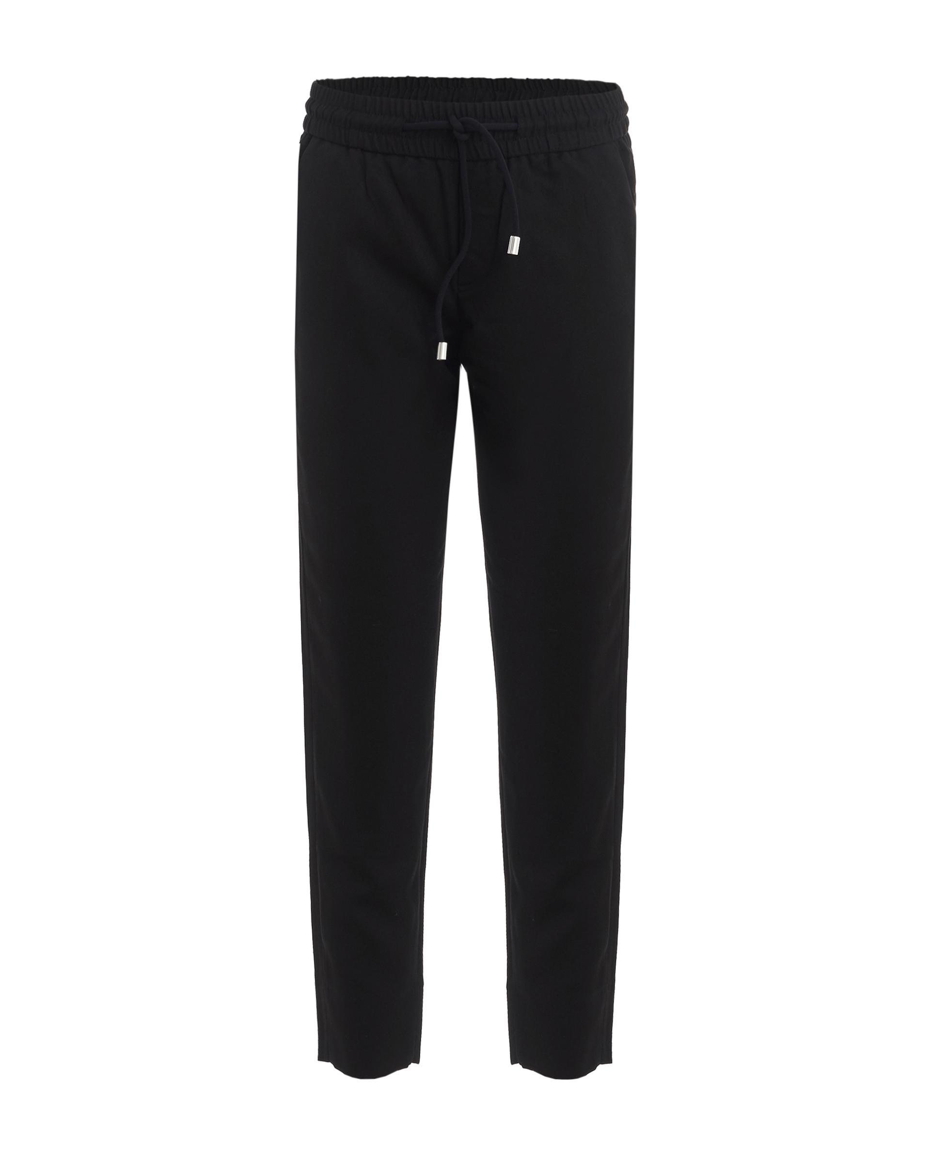 Купить 219GSGC6306, Черные брюки на резинке Gulliver, черный, 128, Женский, ШКОЛЬНАЯ ФОРМА 2019-2020 (shop: GulliverMarket Gulliver Market)