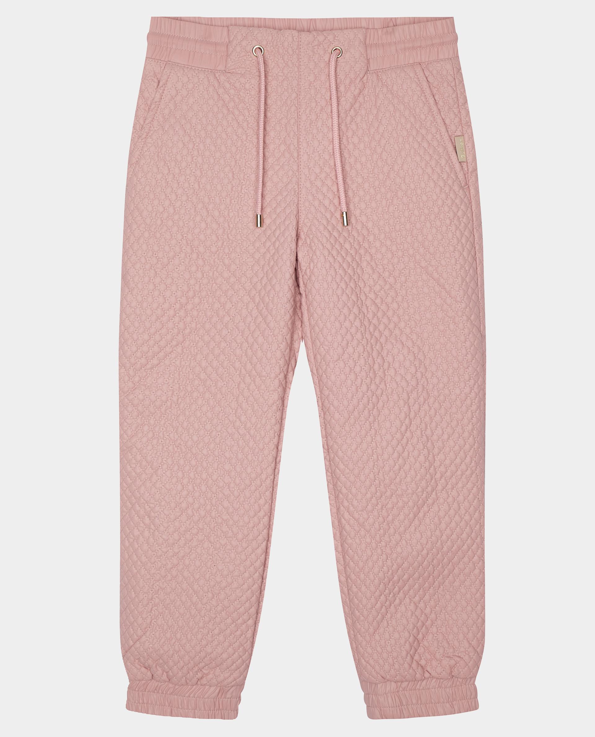 Розовые брюки утепленные демисезонные Gulliver 22001GMC6403 розового цвета