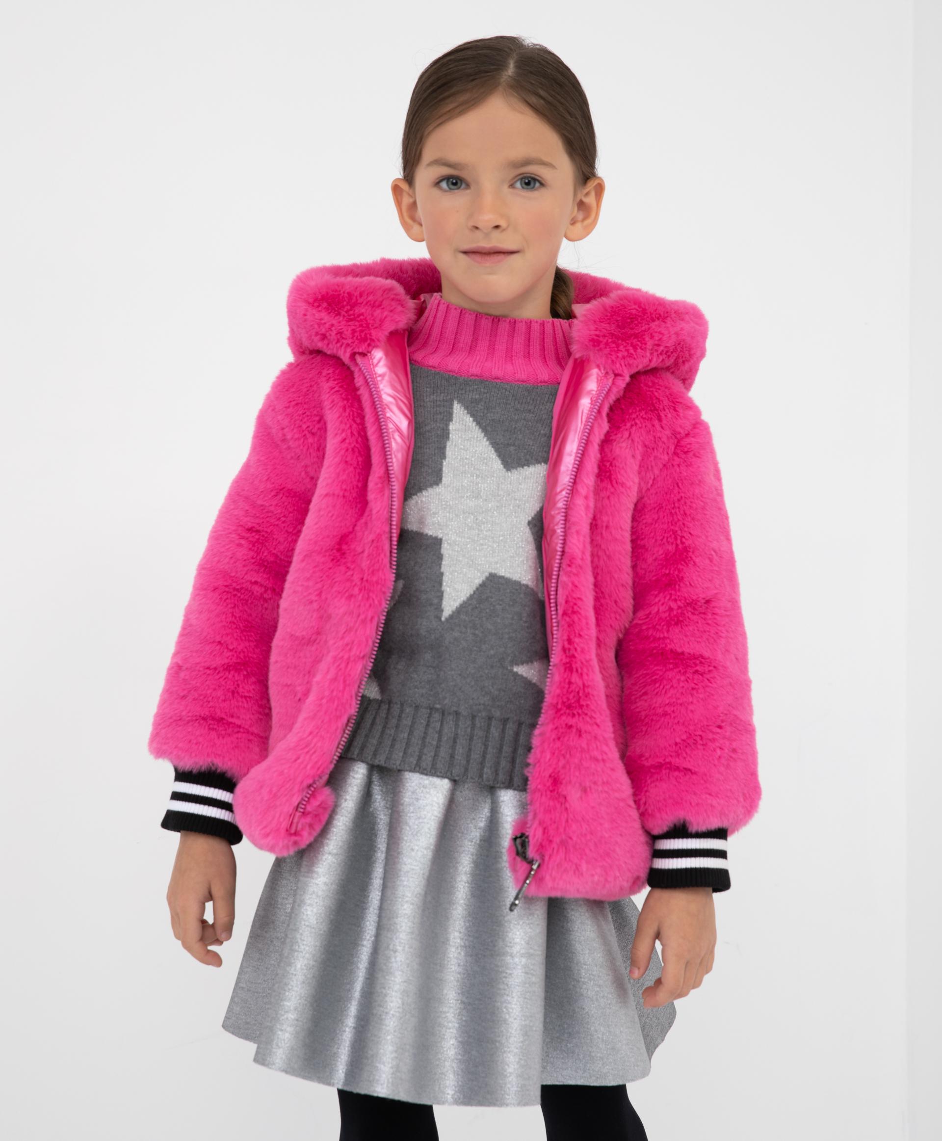 Купить 22003GMC4108, Куртка демисезонная с капюшоном Gulliver, розовый, 128, Полиэстер, Женский, Демисезон, ОСЕНЬ/ЗИМА 2021-2022 (shop: GulliverMarket Gulliver Market)