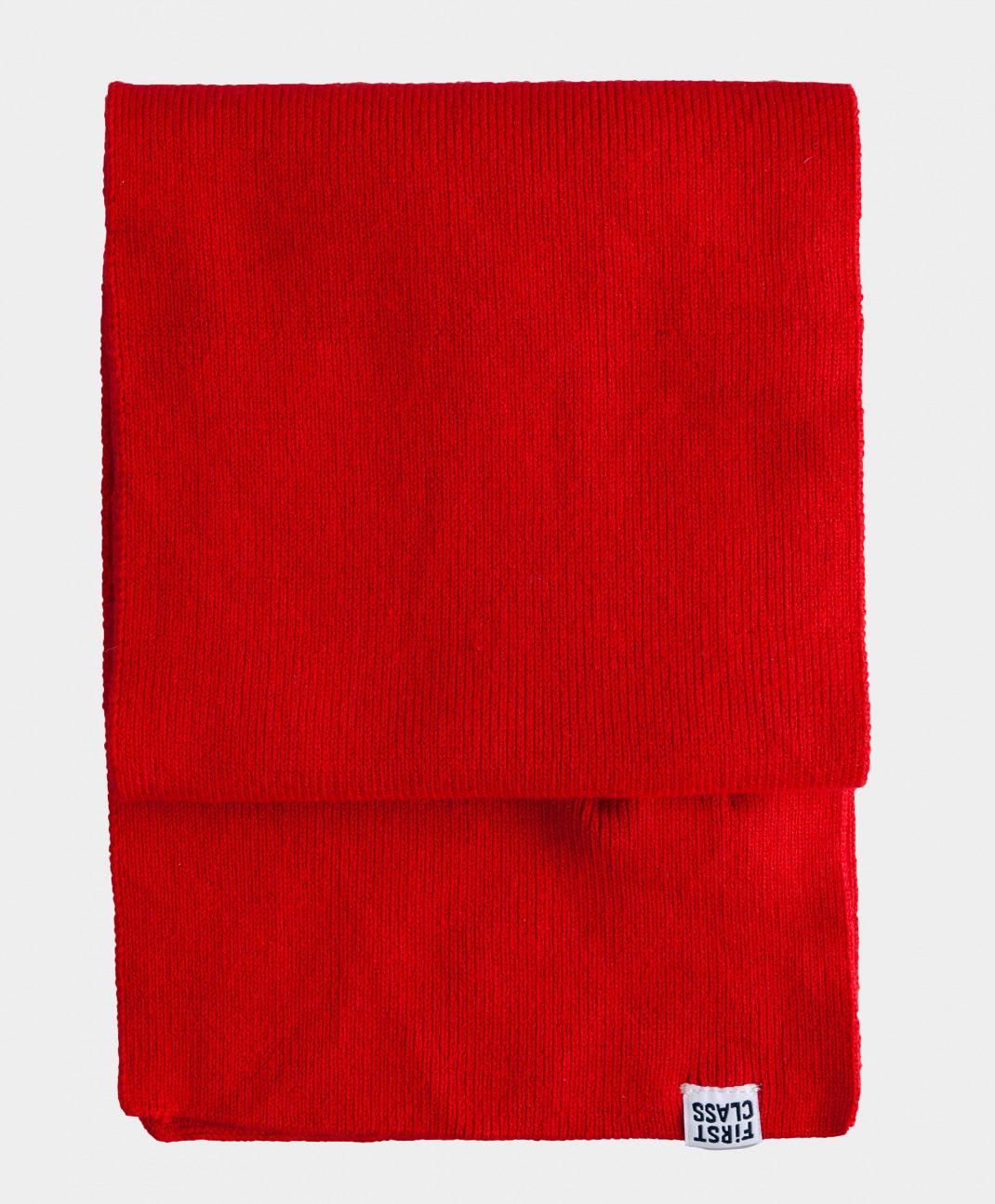 шарф gulliver gulliver gu015gbbtwk5 Gulliver Красный шарф вязаный Gulliver