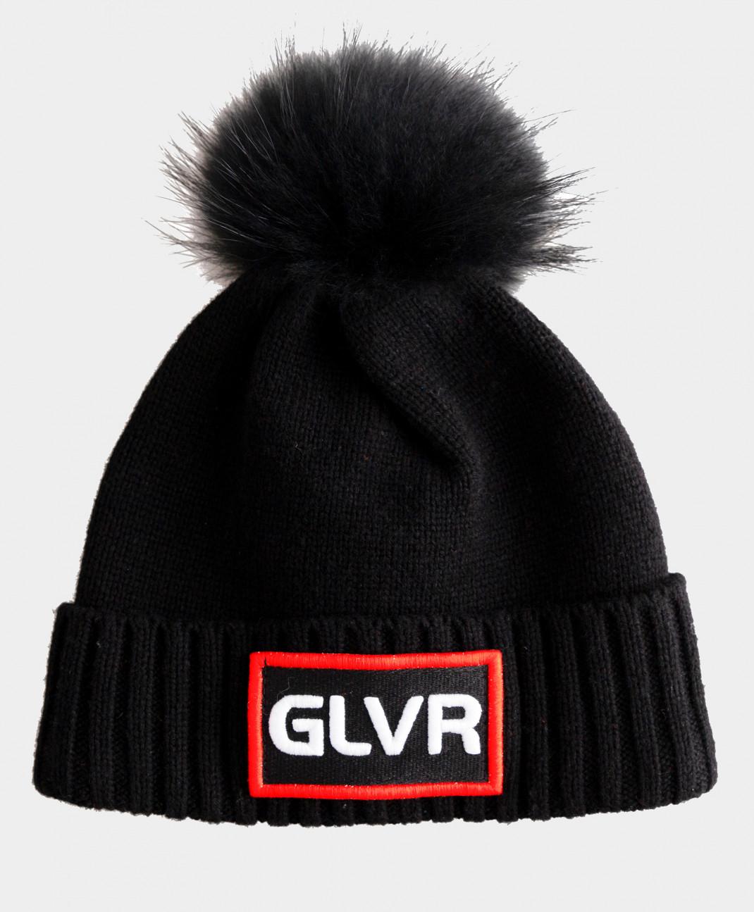 Gulliver Черная шапка вязаная на подкладке Gulliver