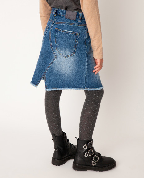 Синяя юбка Gulliver
