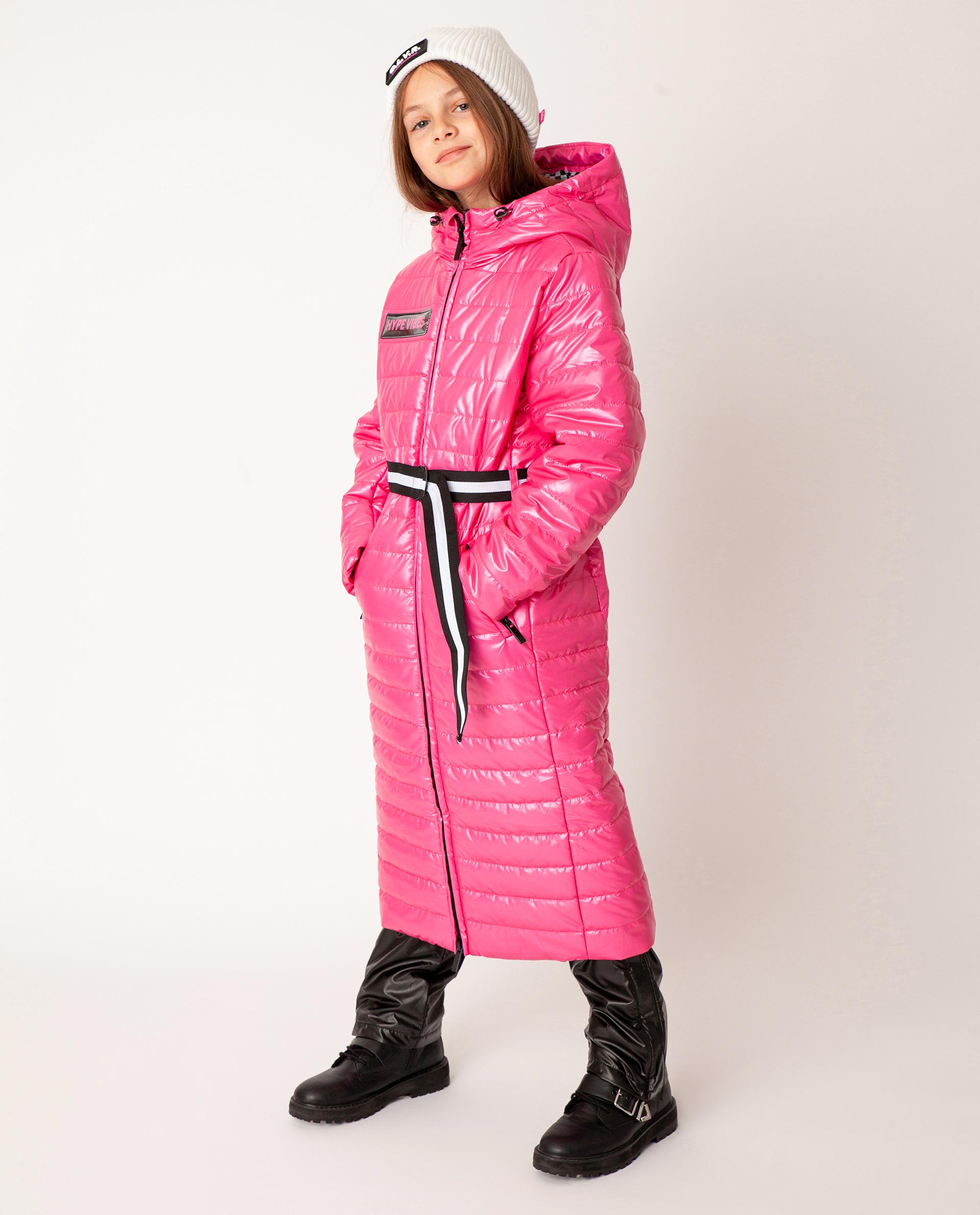 Купить 22009GJC4510, Розовое пальто демисезонное Gulliver, розовый, 140, Полиэстер, Женский, Демисезон, ОСЕНЬ/ЗИМА 2020-2021 (shop: GulliverMarket Gulliver Market)
