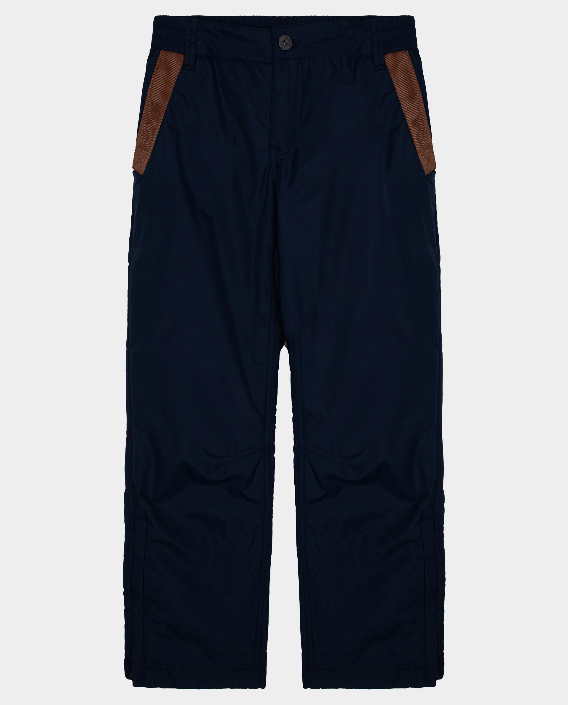 Купить 22010BJC6402, Синие брюки утепленные демисезонные Gulliver, синий, 140, Полиэстер, Мужской, Демисезон, ОСЕНЬ/ЗИМА 2020-2021 (shop: GulliverMarket Gulliver Market)