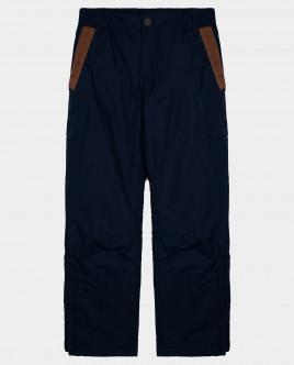Синие брюки утепленные демисезонные Gulliver Gulliver Wear 22010BJC6402 синего цвета