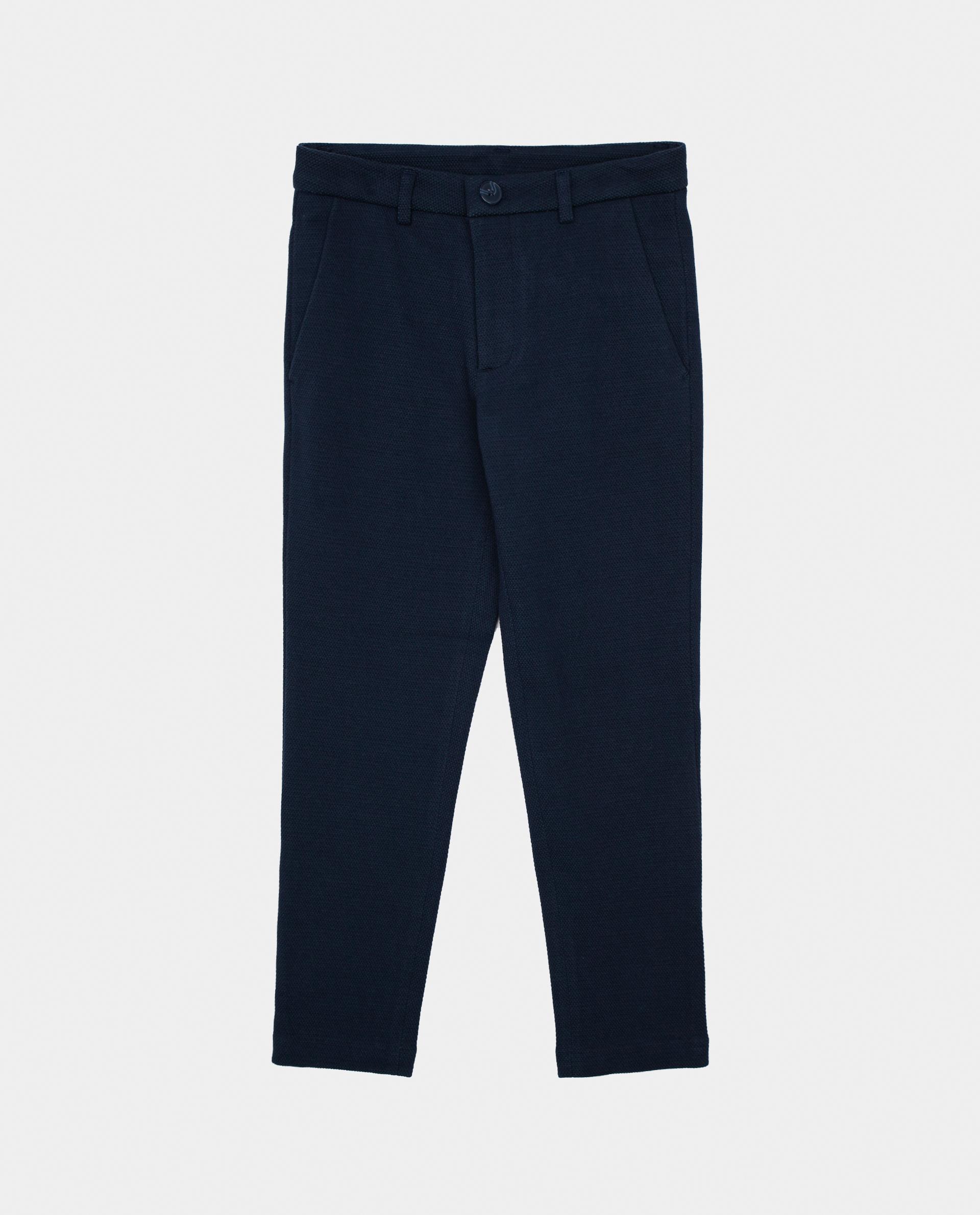 Купить 22011BJC5604, Синие брюки Gulliver, синий, 134, Вискоза, Мужской, Демисезон, ОСЕНЬ/ЗИМА 2020-2021 (shop: GulliverMarket Gulliver Market)