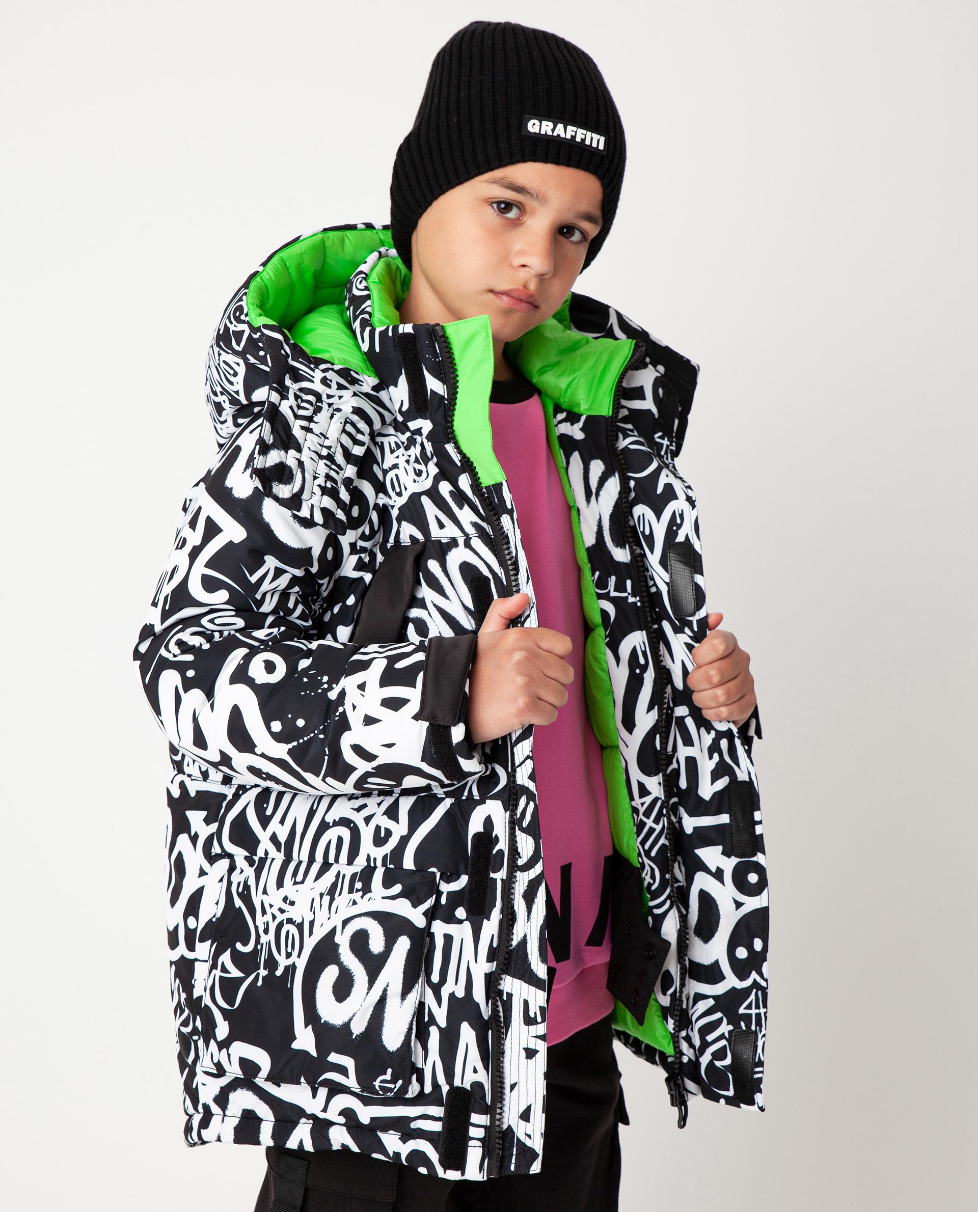 Купить 22012BJC4104, Черная куртка зимняя Gulliver, черный, 164, Полиэстер, Мужской, Зима, ОСЕНЬ/ЗИМА 2020-2021 (shop: GulliverMarket Gulliver Market)