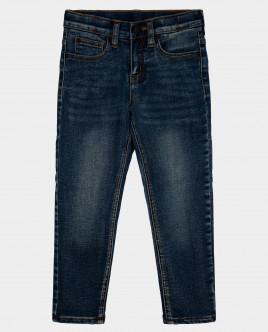 Синие джинсы утепленные Gulliver Gulliver Wear 22012BJC6404 синего цвета
