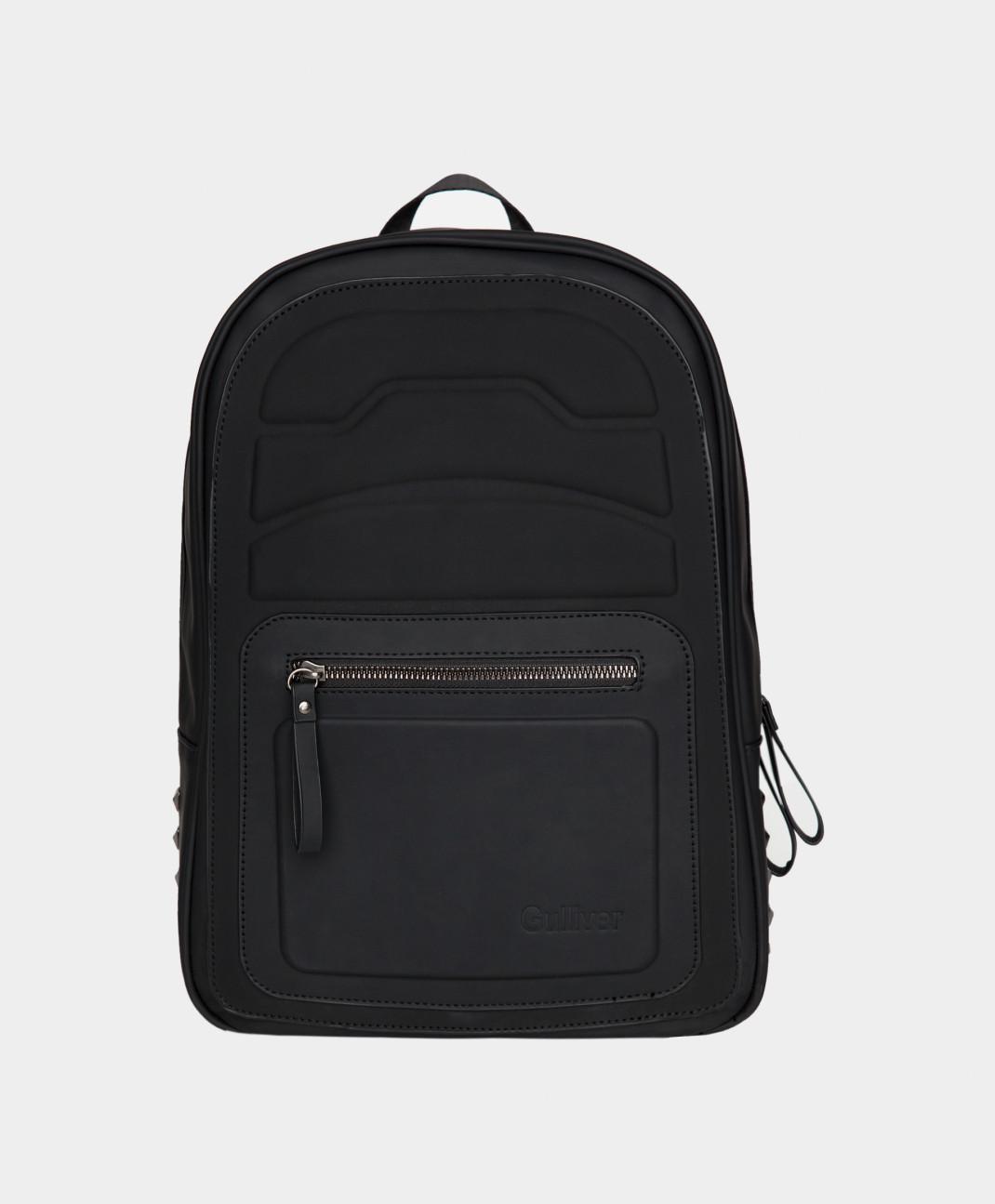 Gulliver Черный рюкзак для мальчика Gulliver