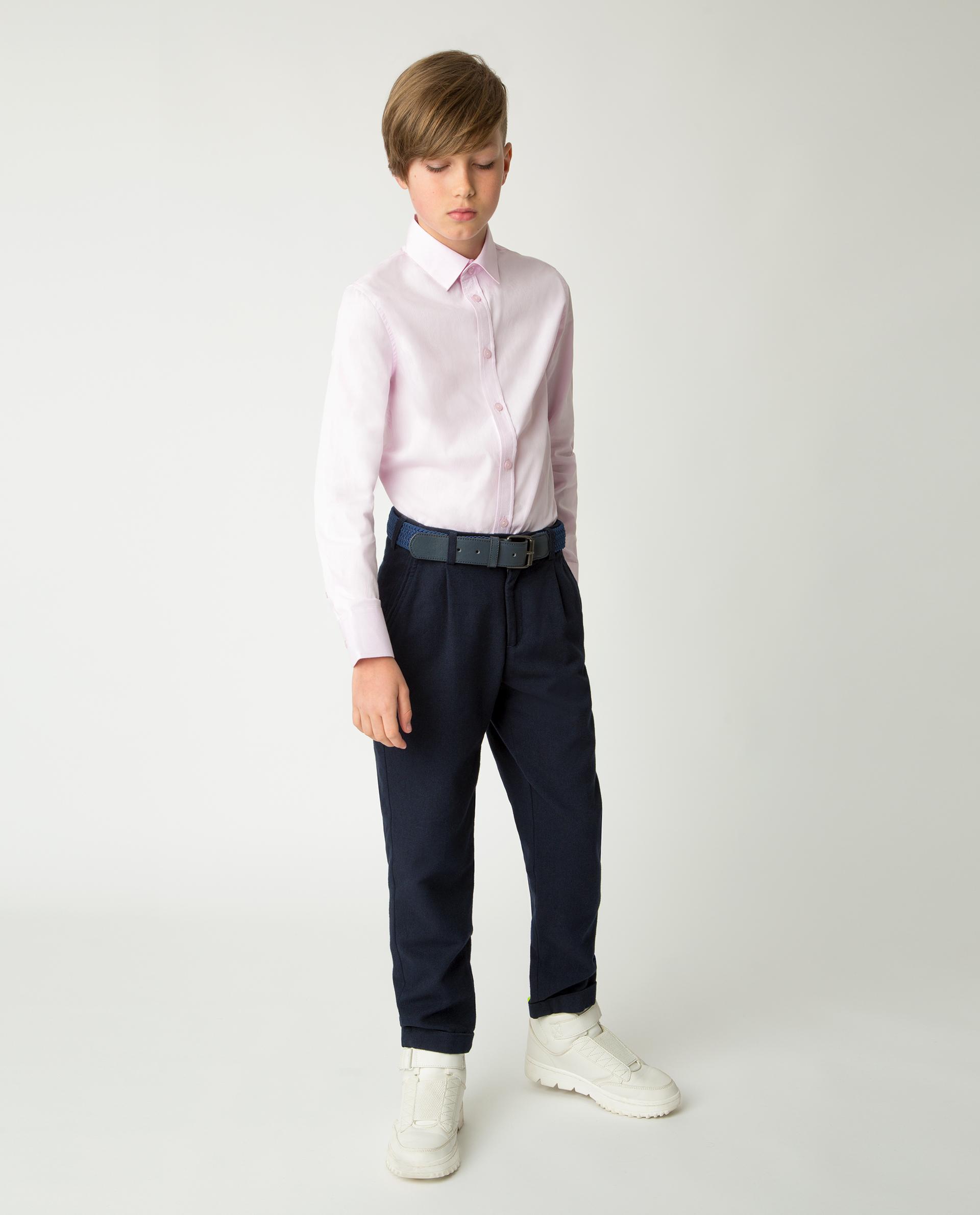 Купить 220GSBC2304, Розовая рубашка Gulliver, розовый, 170, Хлопок, Мужской, Демисезон, ШКОЛЬНАЯ ФОРМА 2020-2021 (shop: GulliverMarket Gulliver Market)