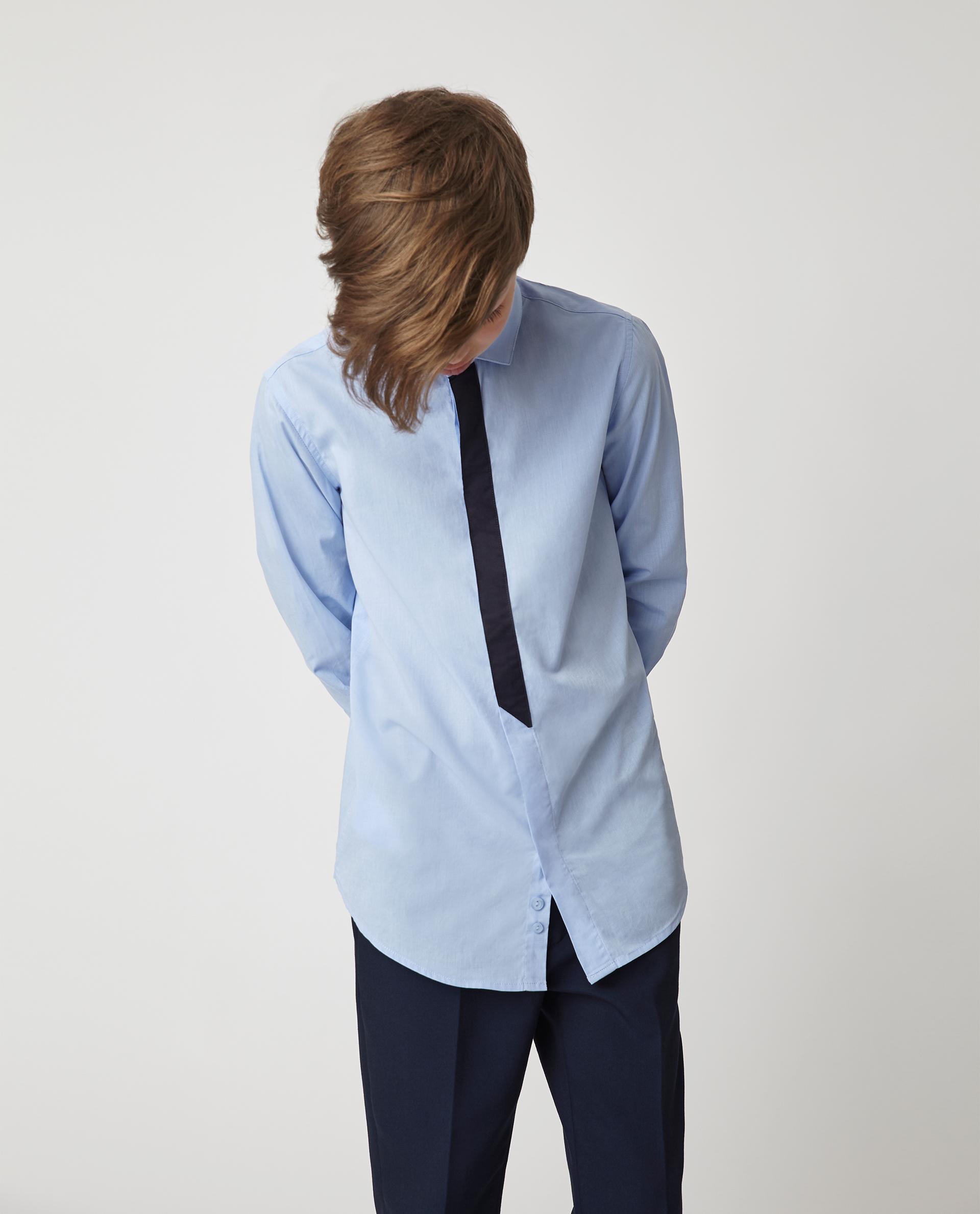 Купить 220GSBC2312, Голубая рубашка Gulliver, голубой, 170, Хлопок, Мужской, Демисезон, ШКОЛЬНАЯ ФОРМА 2020-2021 (shop: GulliverMarket Gulliver Market)