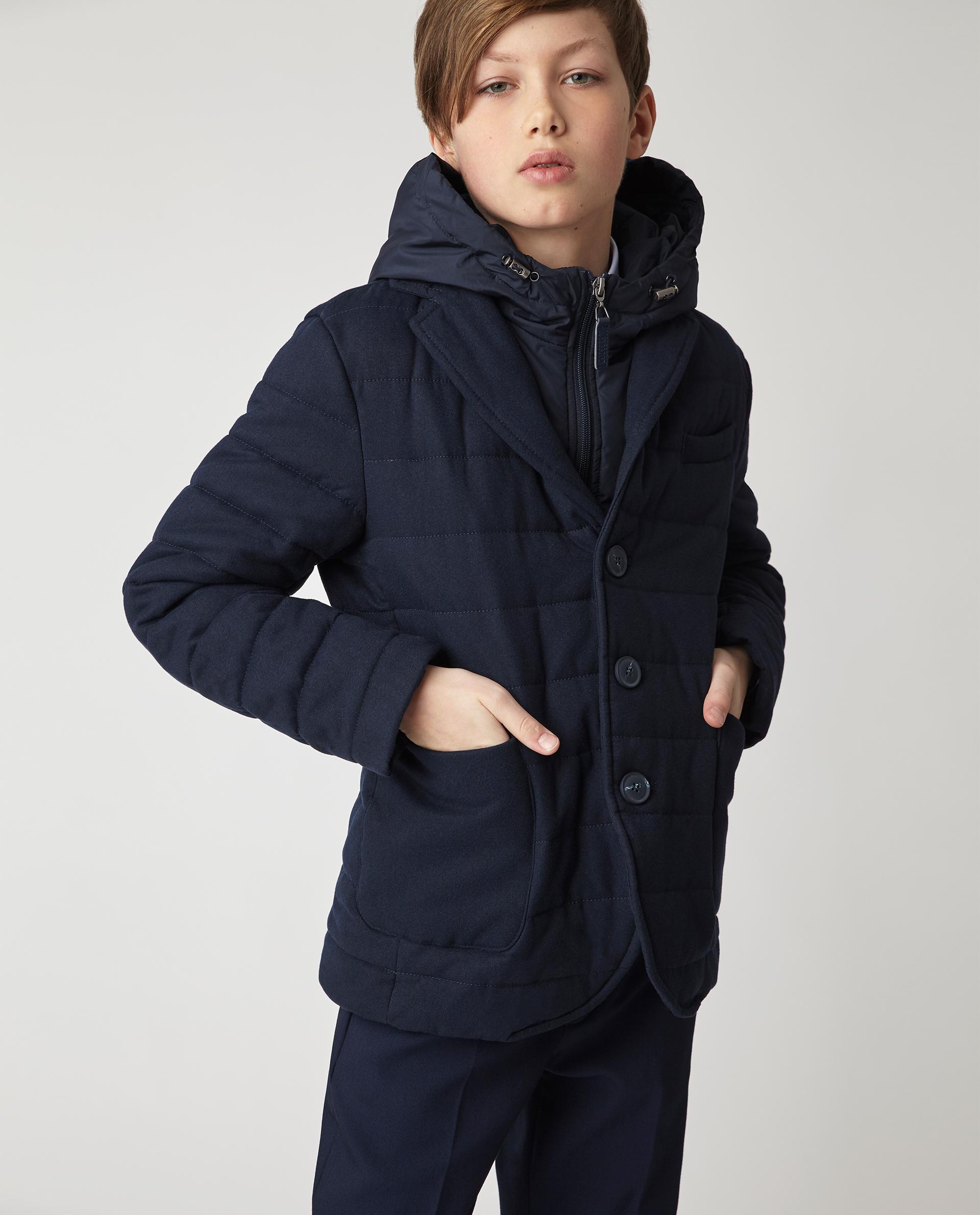 Купить 220GSBC4101, Синяя демисезонная куртка Gulliver, синий, 140, Мужской, Демисезон, ШКОЛЬНАЯ ФОРМА 2020-2021 (shop: GulliverMarket Gulliver Market)