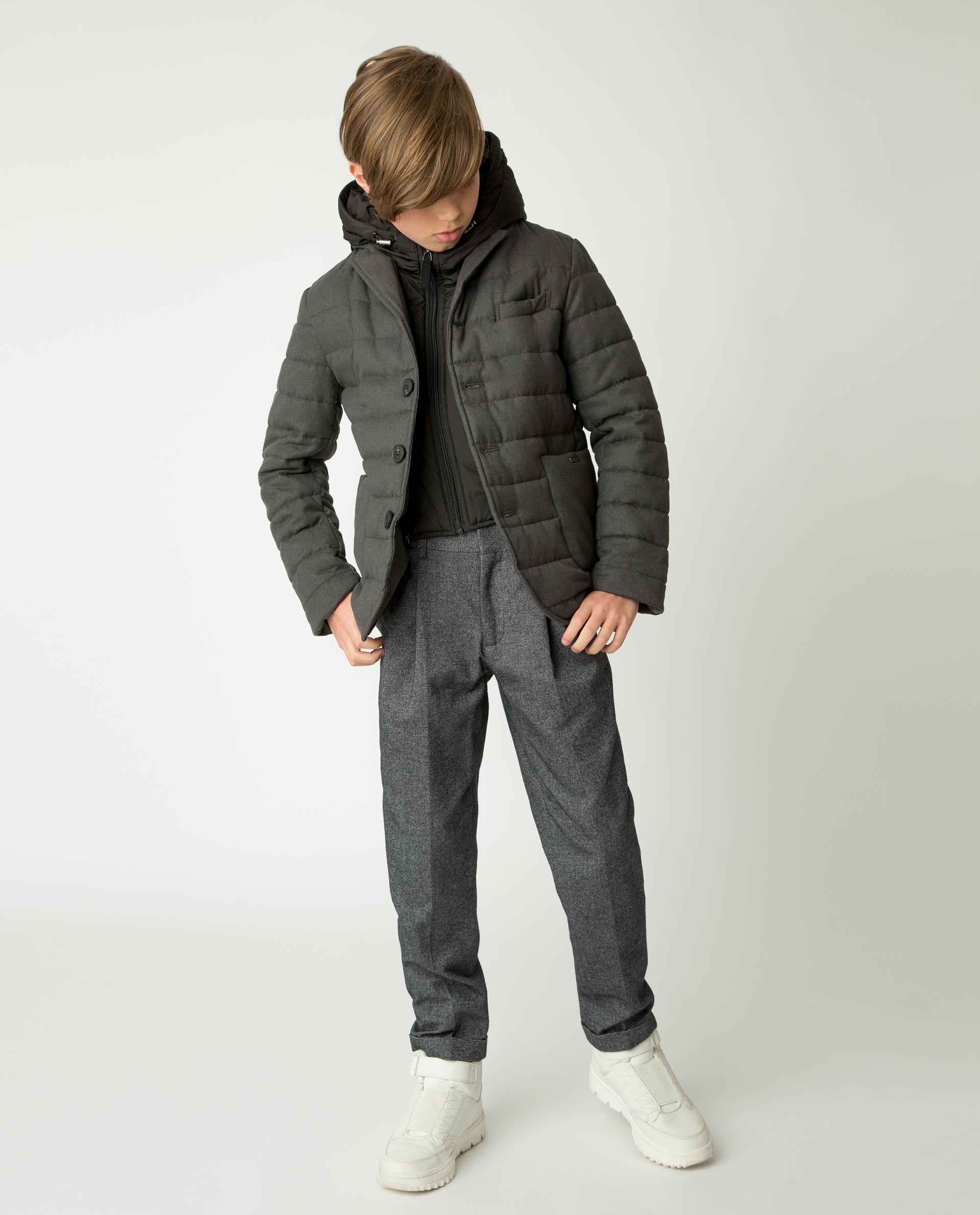 Купить 220GSBC4102, Серая демисезонная куртка Gulliver, серый, 170, Мужской, Демисезон, ШКОЛЬНАЯ ФОРМА 2020-2021 (shop: GulliverMarket Gulliver Market)