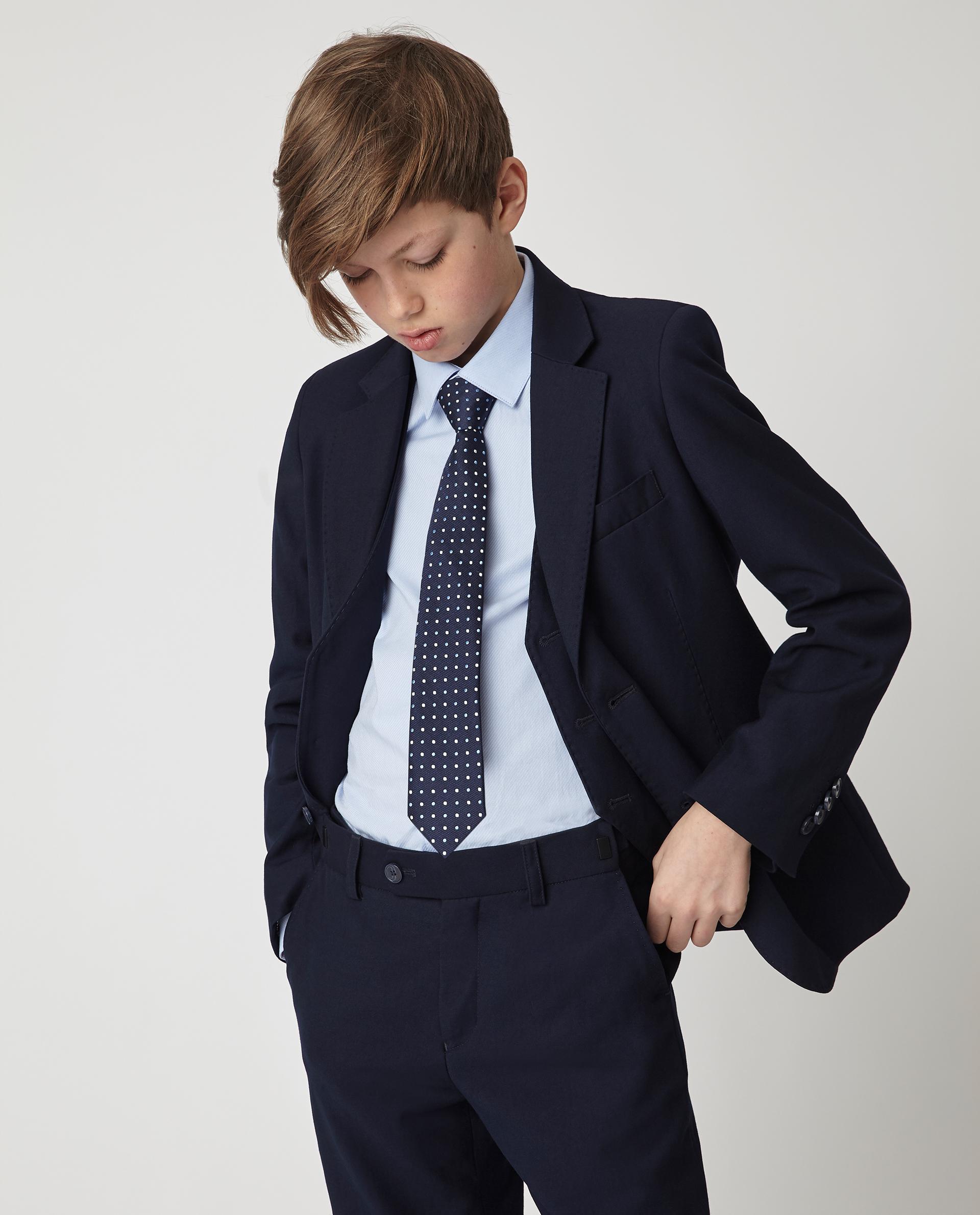 Купить 220GSBC4801, Синий пиджак Gulliver, синий, 140, Мужской, Демисезон, ШКОЛЬНАЯ ФОРМА 2020-2021 (shop: GulliverMarket Gulliver Market)