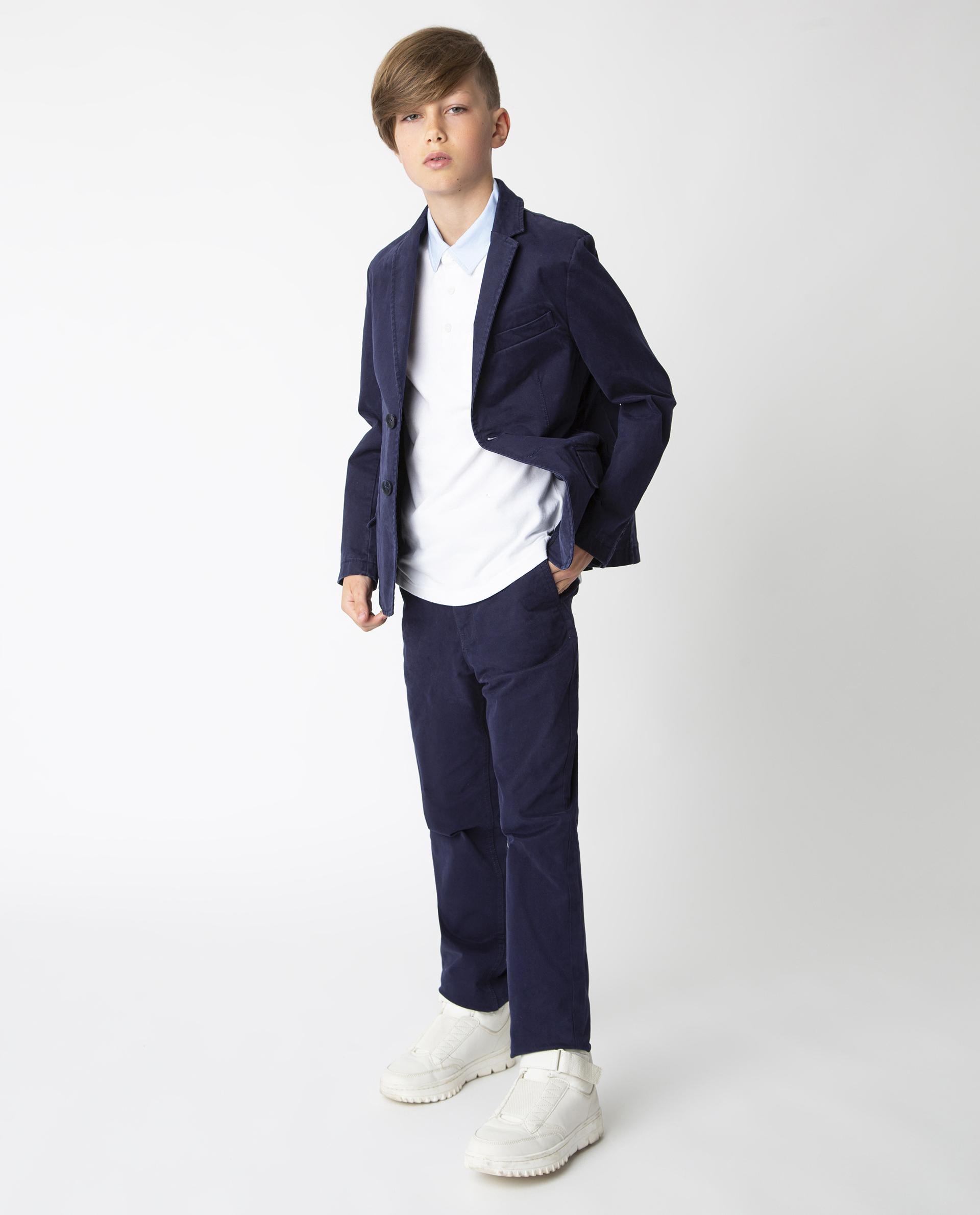 Купить 220GSBC4804, Синий пиджак Gulliver, синий, 146, Твил, Мужской, Демисезон, ШКОЛЬНАЯ ФОРМА 2020-2021 (shop: GulliverMarket Gulliver Market)
